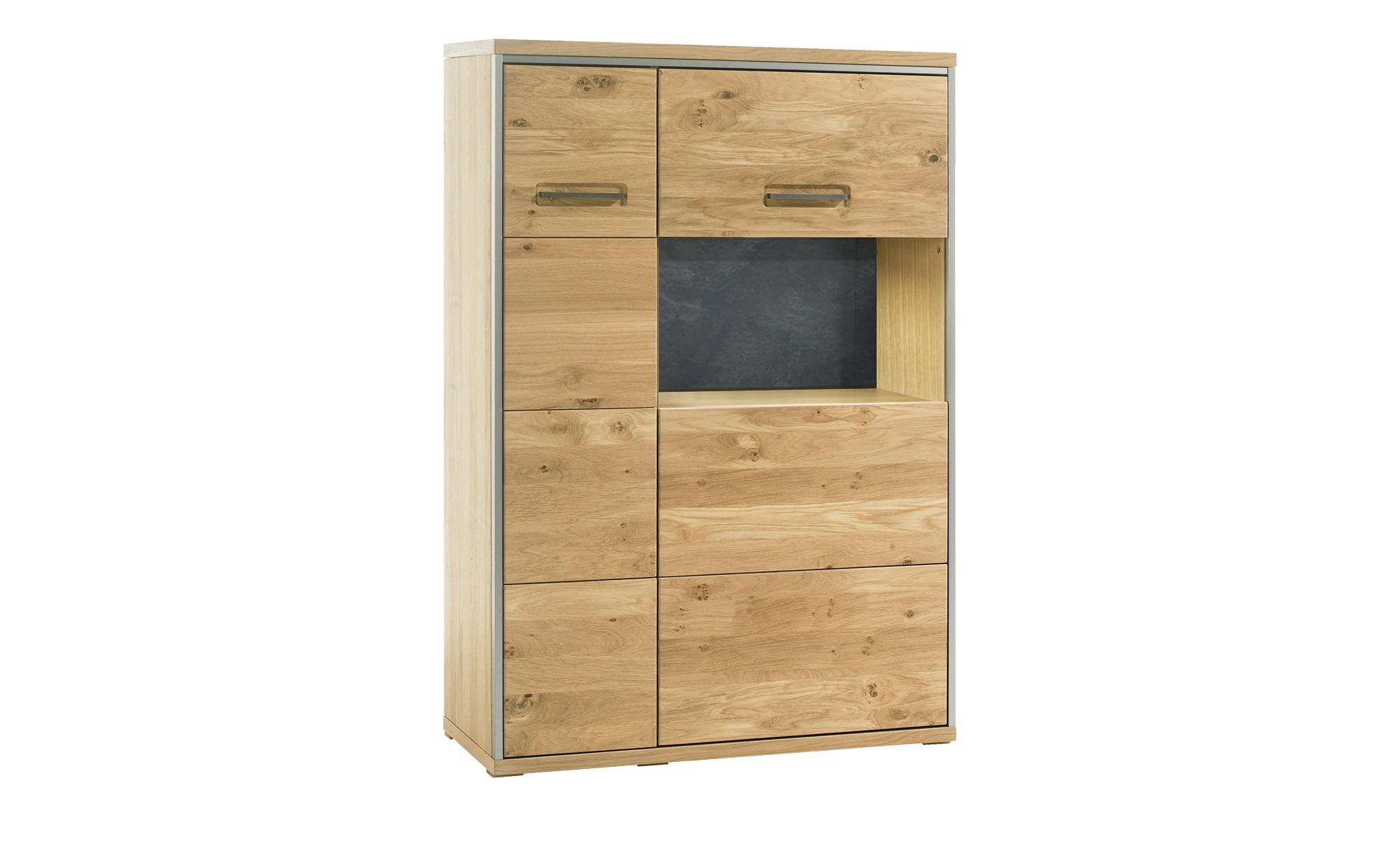 Woodford Kombi-Highboard  Felino ¦ holzfarben ¦ Maße (cm): B: 94 H: 136 T: 39 Kommoden & Sideboards > Highboards - Höffner