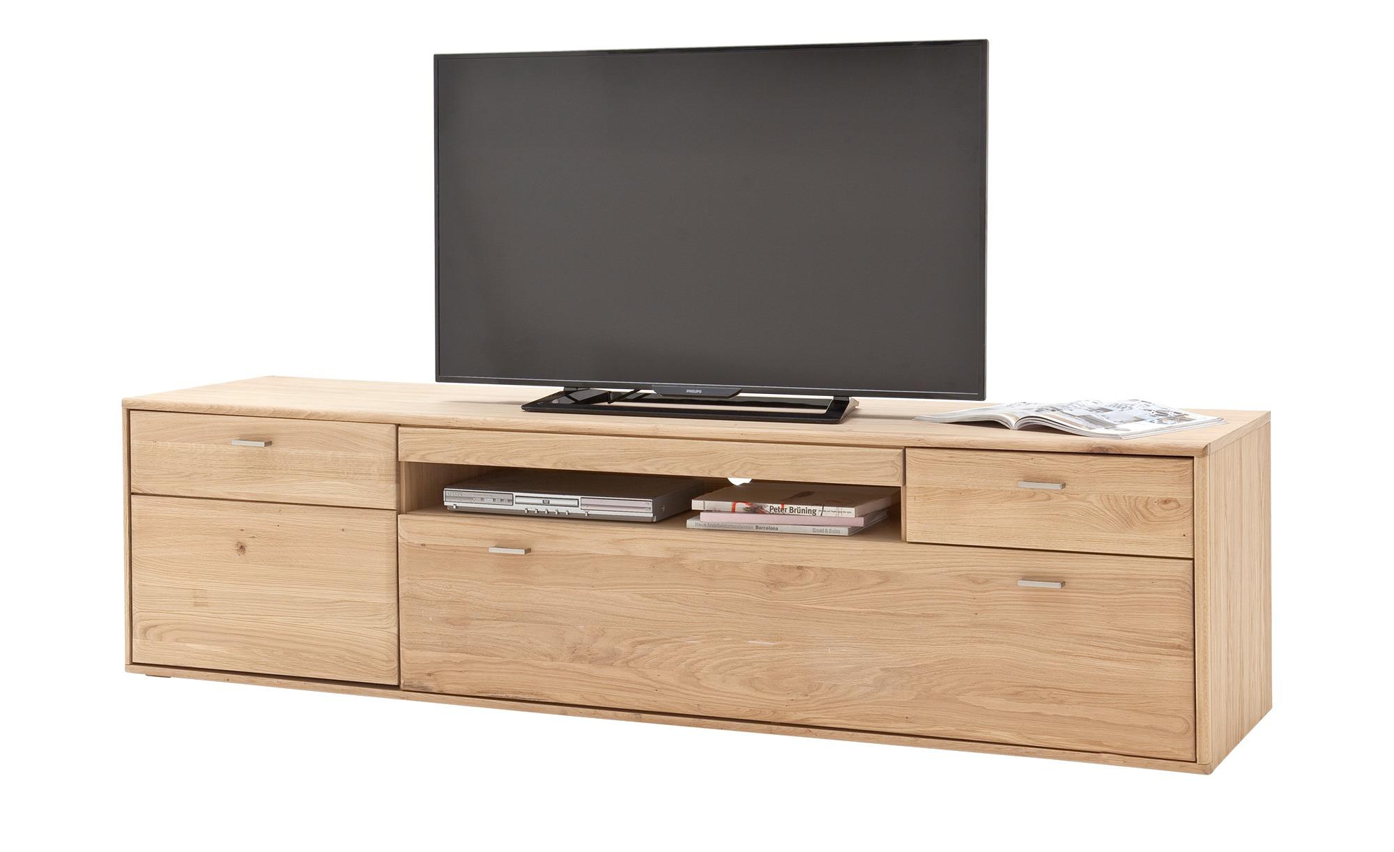 Woodford ¦ holzfarben ¦ Maße (cm): B: 214 H: 56 T: 52 Kommoden & Sideboards > Lowboards - Höffner
