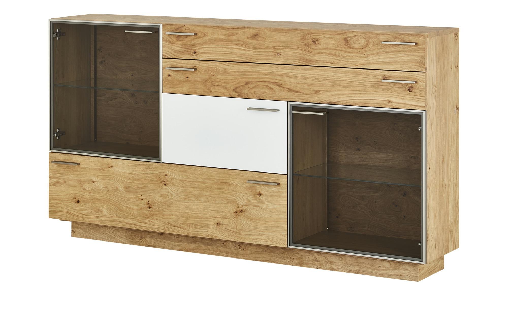 Sideboard  Seefeld ¦ holzfarben ¦ Maße (cm): B: 192 H: 107 T: 38 Kommoden & Sideboards > Sideboards - Höffner