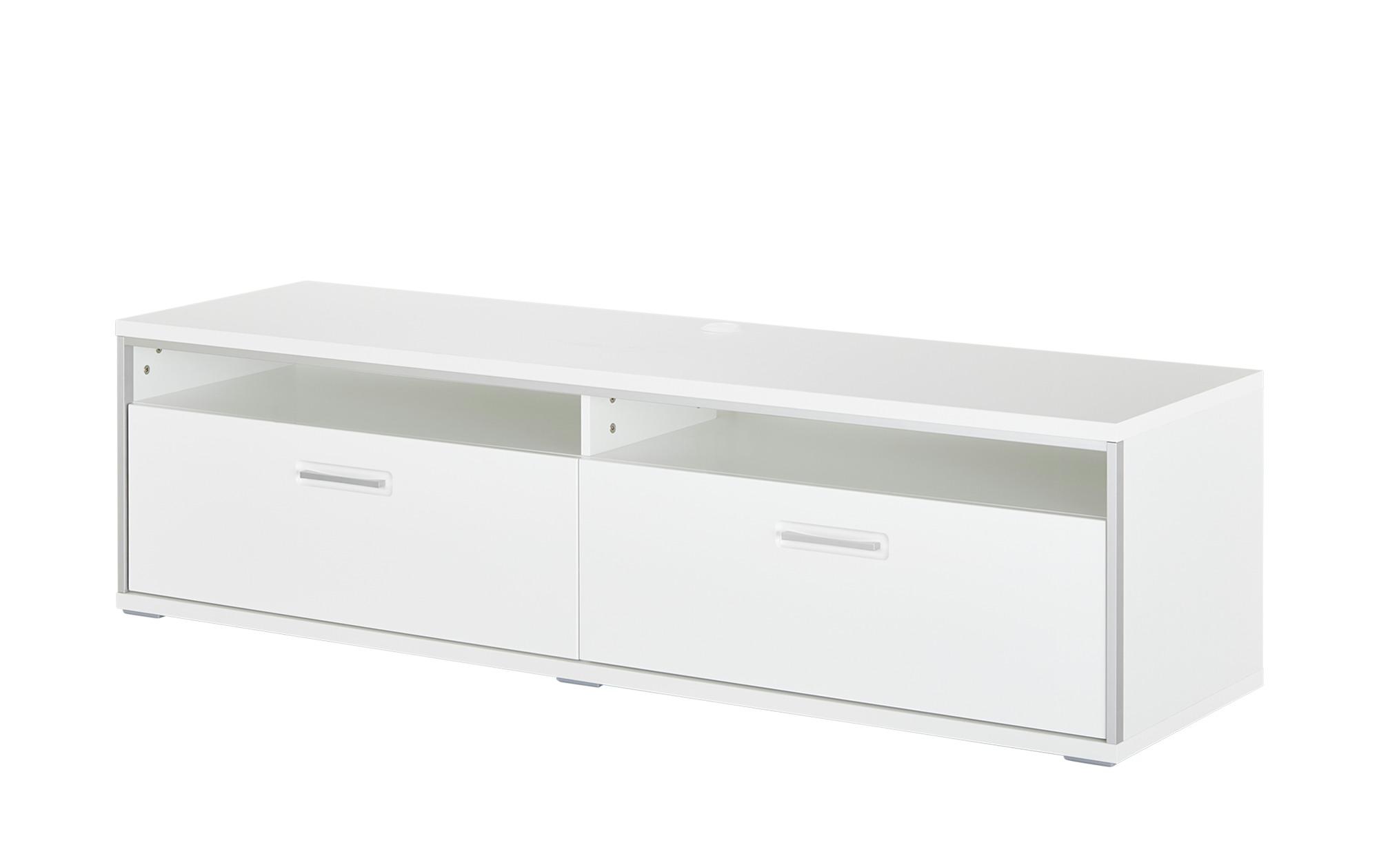 uno TV-Lowboard   Setto ¦ weiß ¦ Maße (cm): B: 184 H: 51 T: 51 Kommoden & Sideboards > Lowboards - Höffner