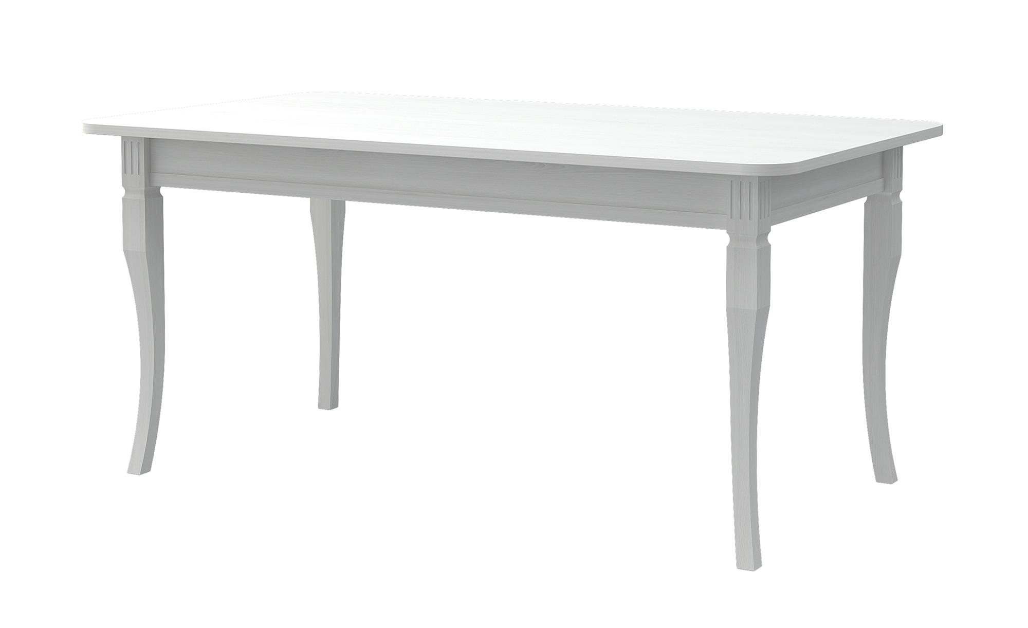 Esstisch  Monteux ¦ weiß ¦ Maße (cm): B: 90 H: 74,8 Tische > Esstische > Esstische ausziehbar - Höffner