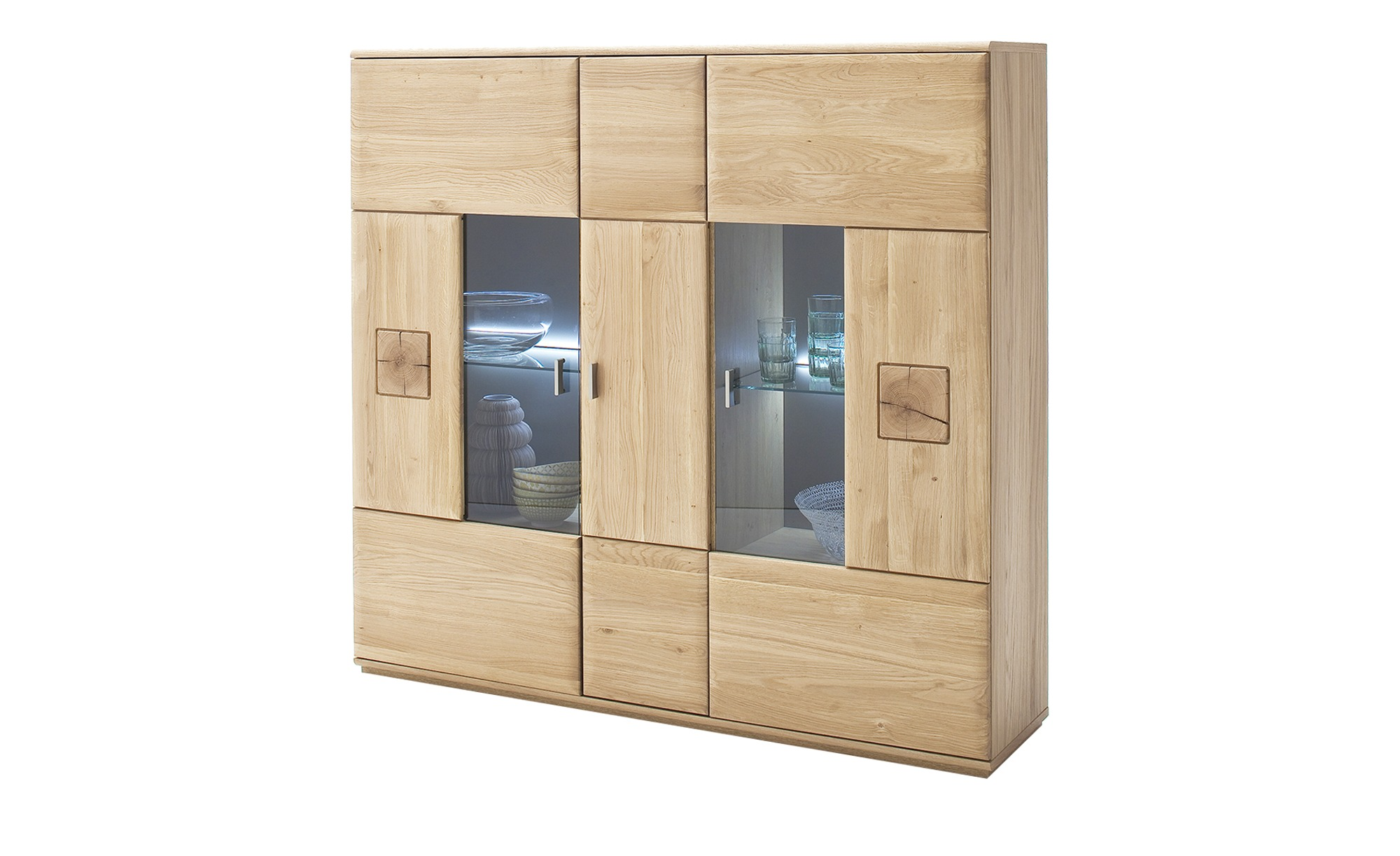 Woodford Highboard  Loggia ¦ holzfarben ¦ Maße (cm): B: 150 H: 141 T: 38 Kommoden & Sideboards > Highboards - Höffner