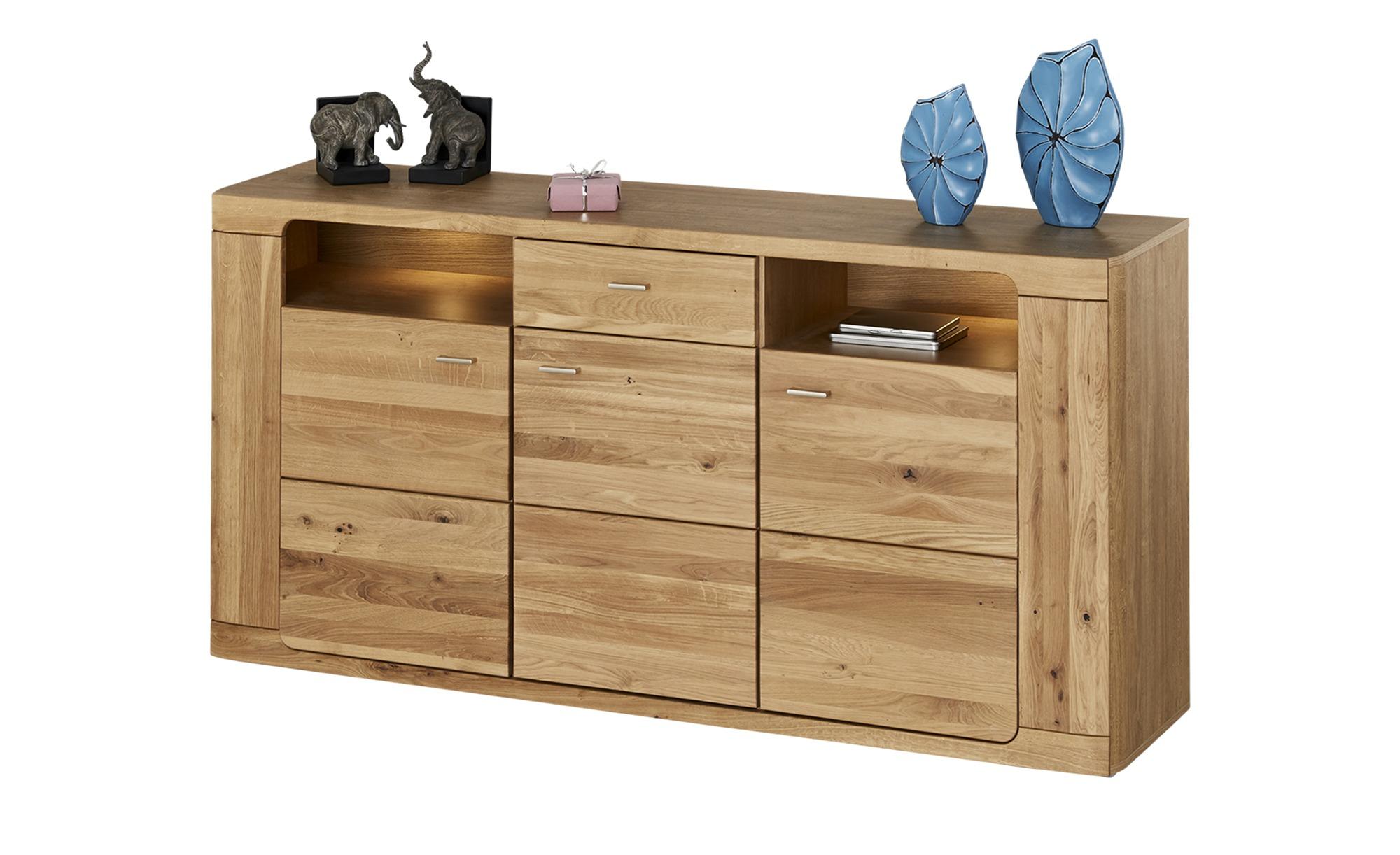 Woodford Sideboard  Hares ¦ holzfarben ¦ Maße (cm): B: 182 H: 89 T: 44 Kommoden & Sideboards > Sideboards - Höffner