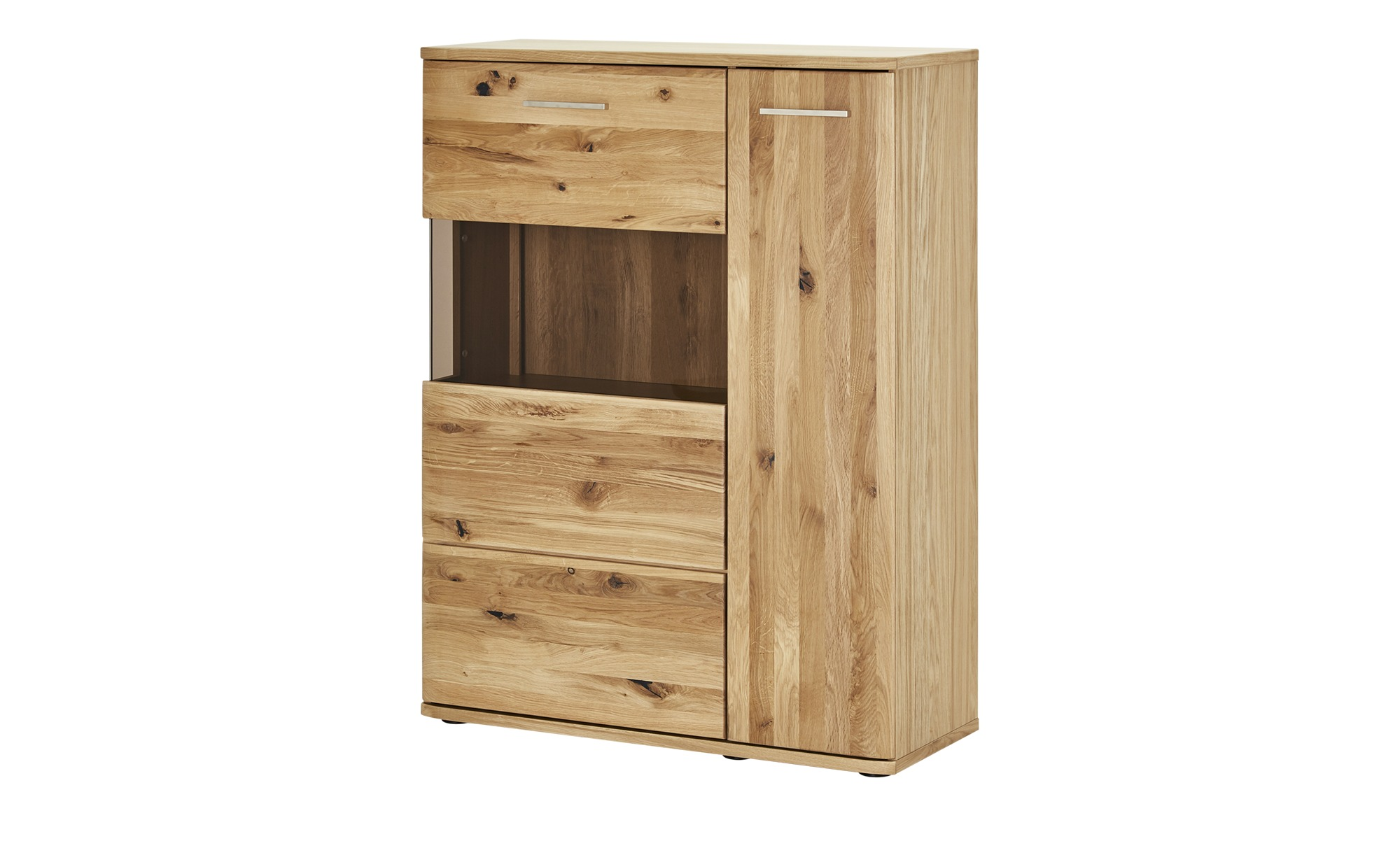 Woodford Highboard  Astoria ¦ holzfarben ¦ Maße (cm): B: 90 H: 122 T: 37 Kommoden & Sideboards > Highboards - Höffner