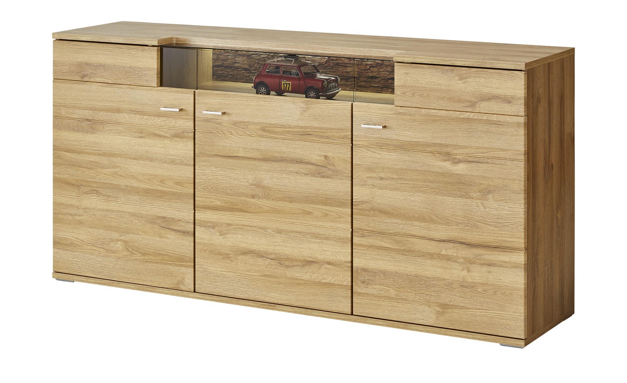 uno Sideboard   Kait ¦ holzfarben ¦ Maße (cm): B: 181 H: 92 T: 44 Kommoden & Sideboards > Sideboards - Höffner