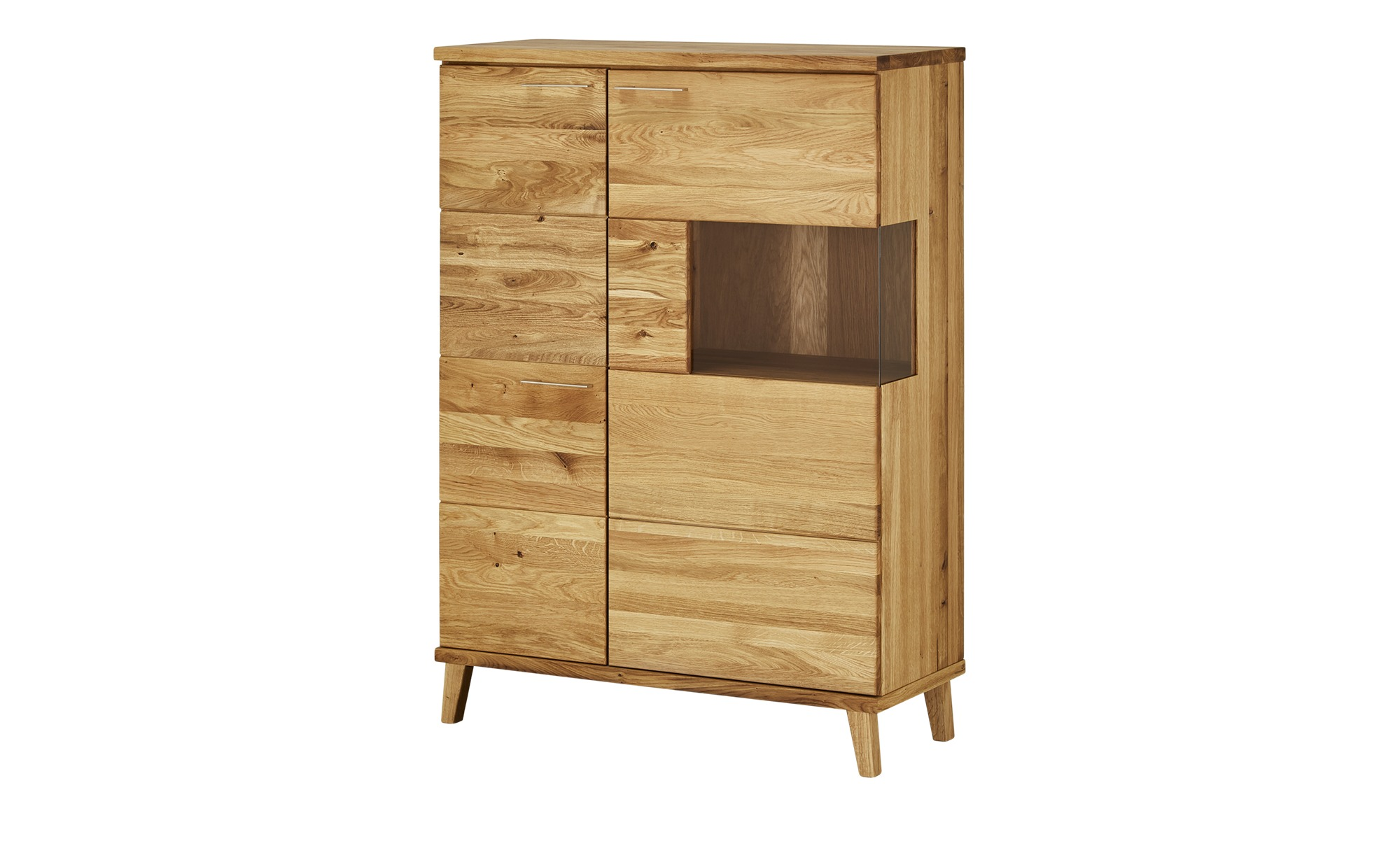Wohnwert Highboard  Angus ¦ holzfarben ¦ Maße (cm): B: 101 H: 139 T: 41 Kommoden & Sideboards > Highboards - Höffner