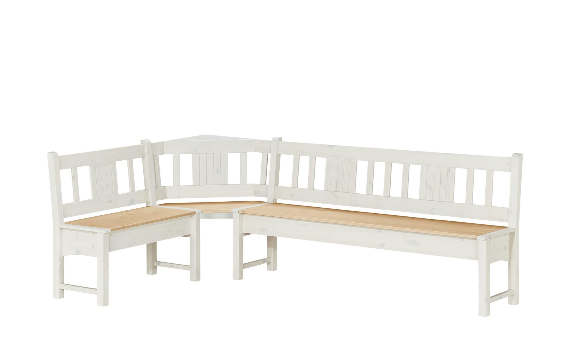 Eckbank  Bornholm ¦ holzfarben ¦ Maße (cm): B: 151 H: 87,5 T: 88 Bänke > Holzbänke - Höffner | Küche und Esszimmer > Sitzbänke | Möbel Höffner DE