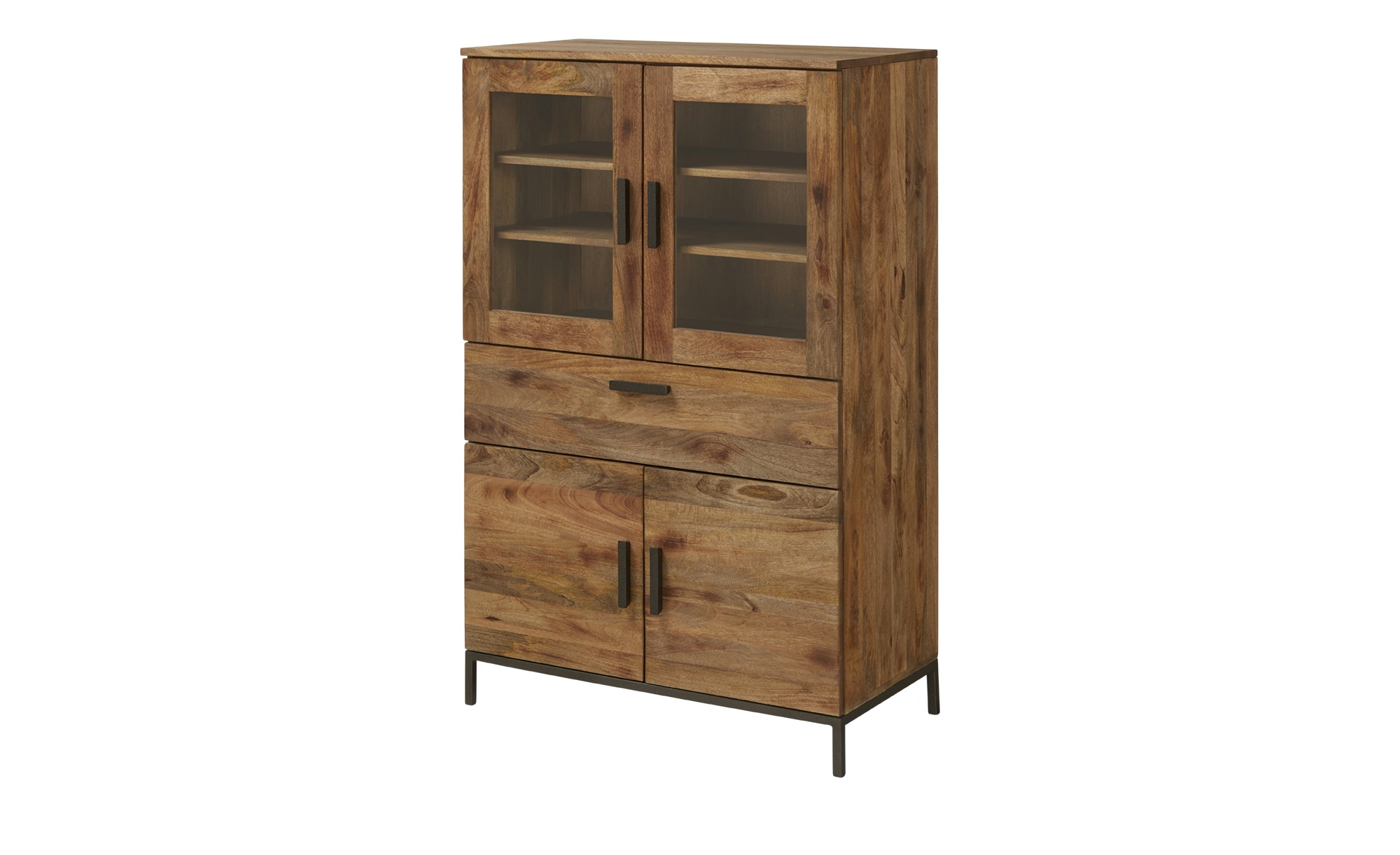 Highboard  Bologna ¦ holzfarben ¦ Maße (cm): B: 90 H: 140 T: 45 Kommoden & Sideboards > Highboards - Höffner
