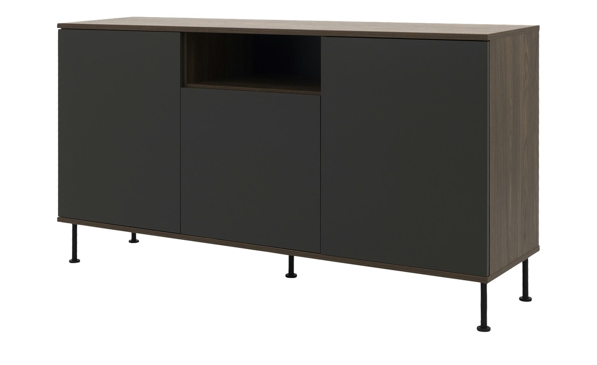 Sideboard  Daxx ¦ grau ¦ Maße (cm): B: 163 H: 90 T: 43 Kommoden & Sideboards > Sideboards - Höffner