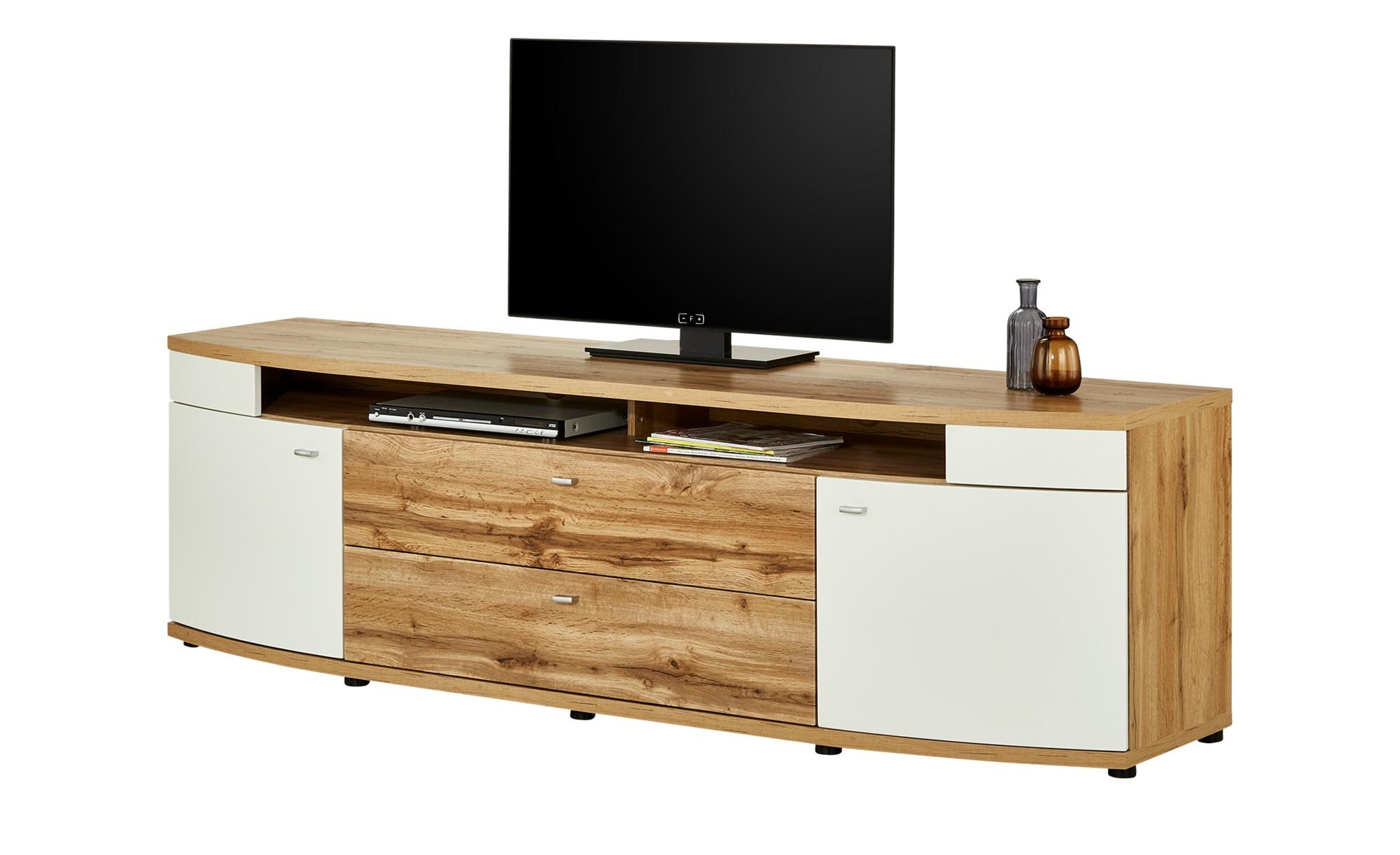 uno TV-Lowboard  Terrazzo ¦ holzfarben ¦ Maße (cm): B: 210 H: 63 T: 55 TV- & Media Möbel > TV-Racks - Höffner