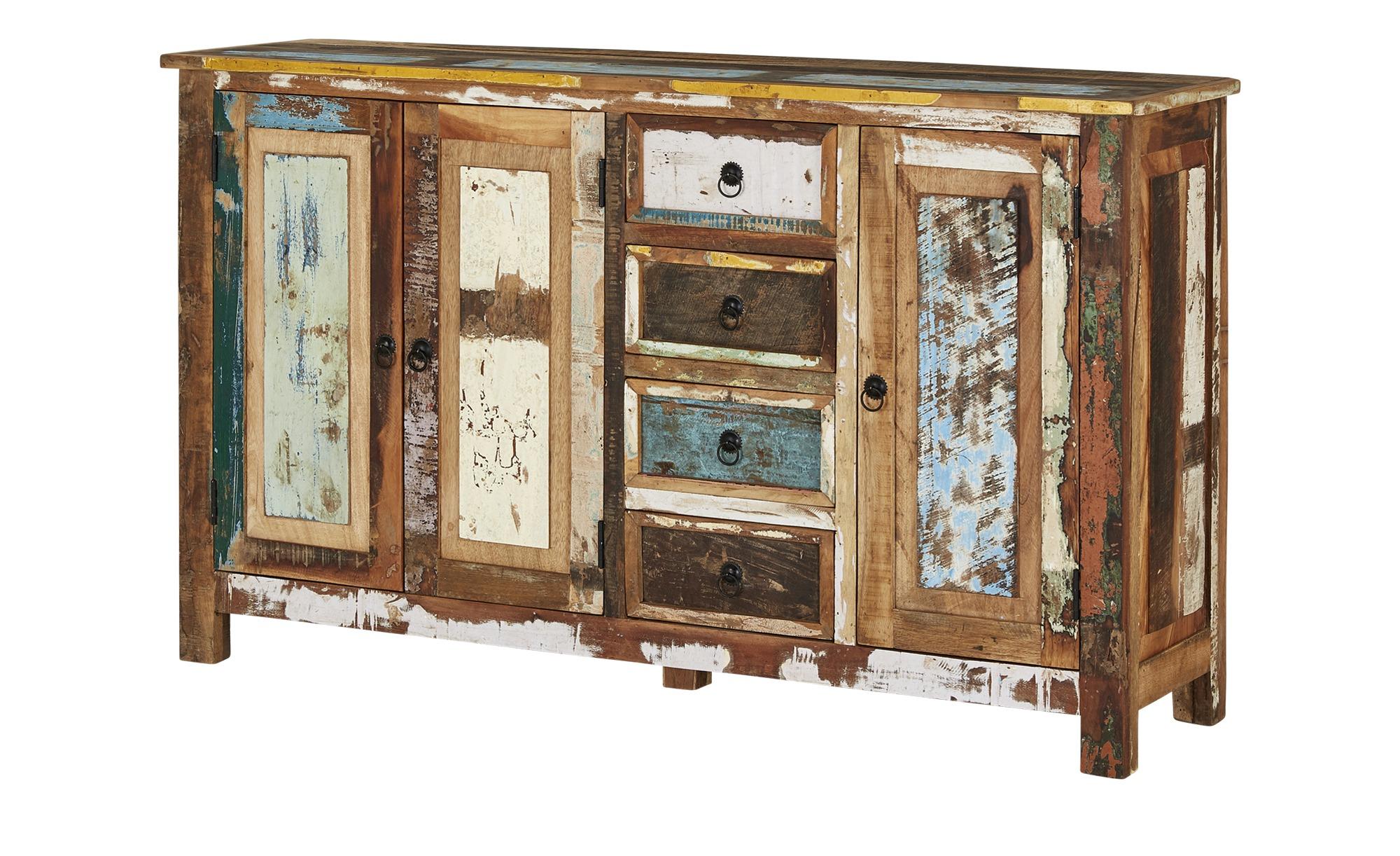 Sideboard  Jodhpur ¦ mehrfarbig ¦ Maße (cm): B: 150 H: 90 T: 40 Kommoden & Sideboards > Sideboards - Höffner