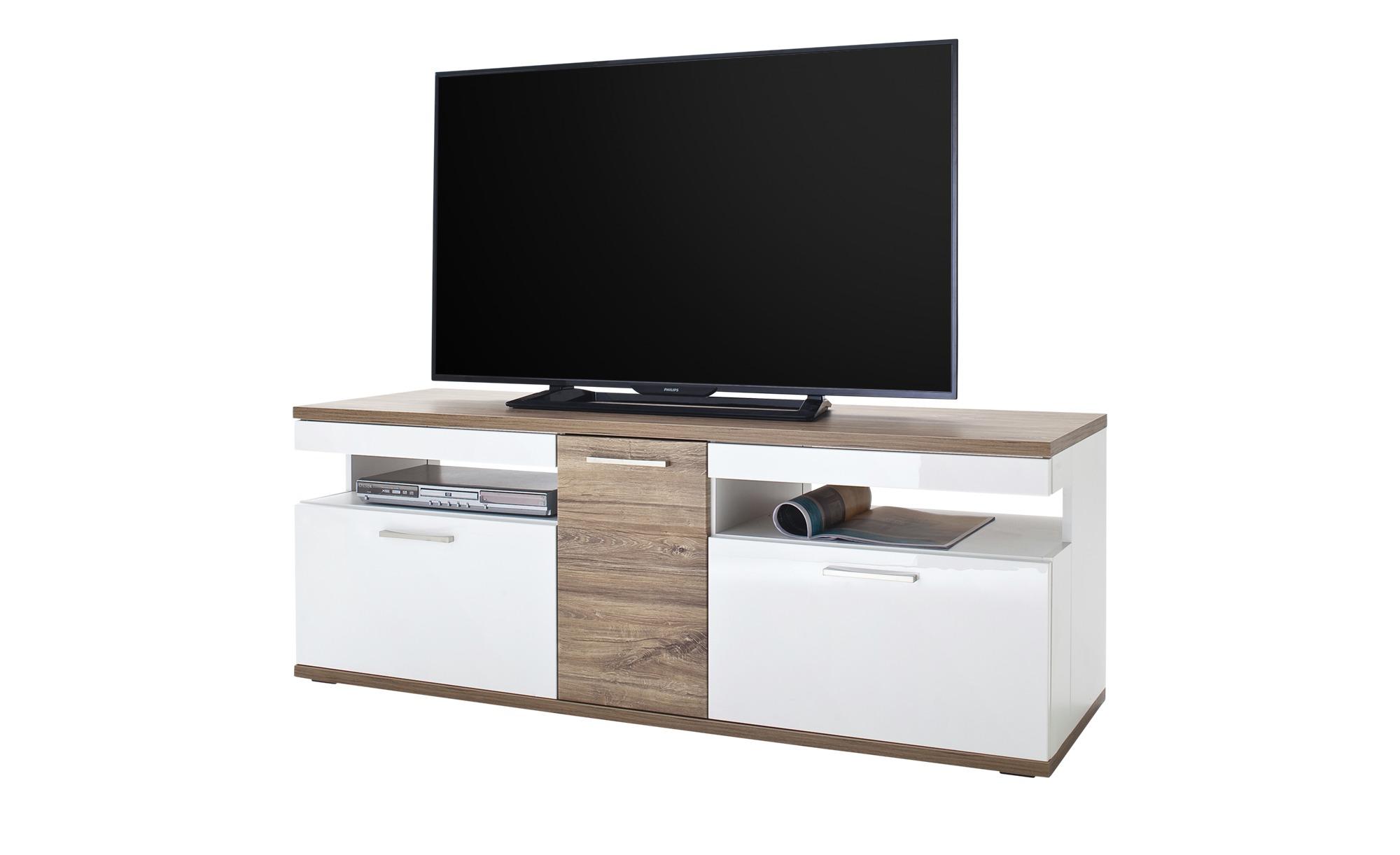 uno TV-Lowboard  Zypern ¦ weiß TV- & Media Möbel > TV-Racks - Höffner günstig online kaufen