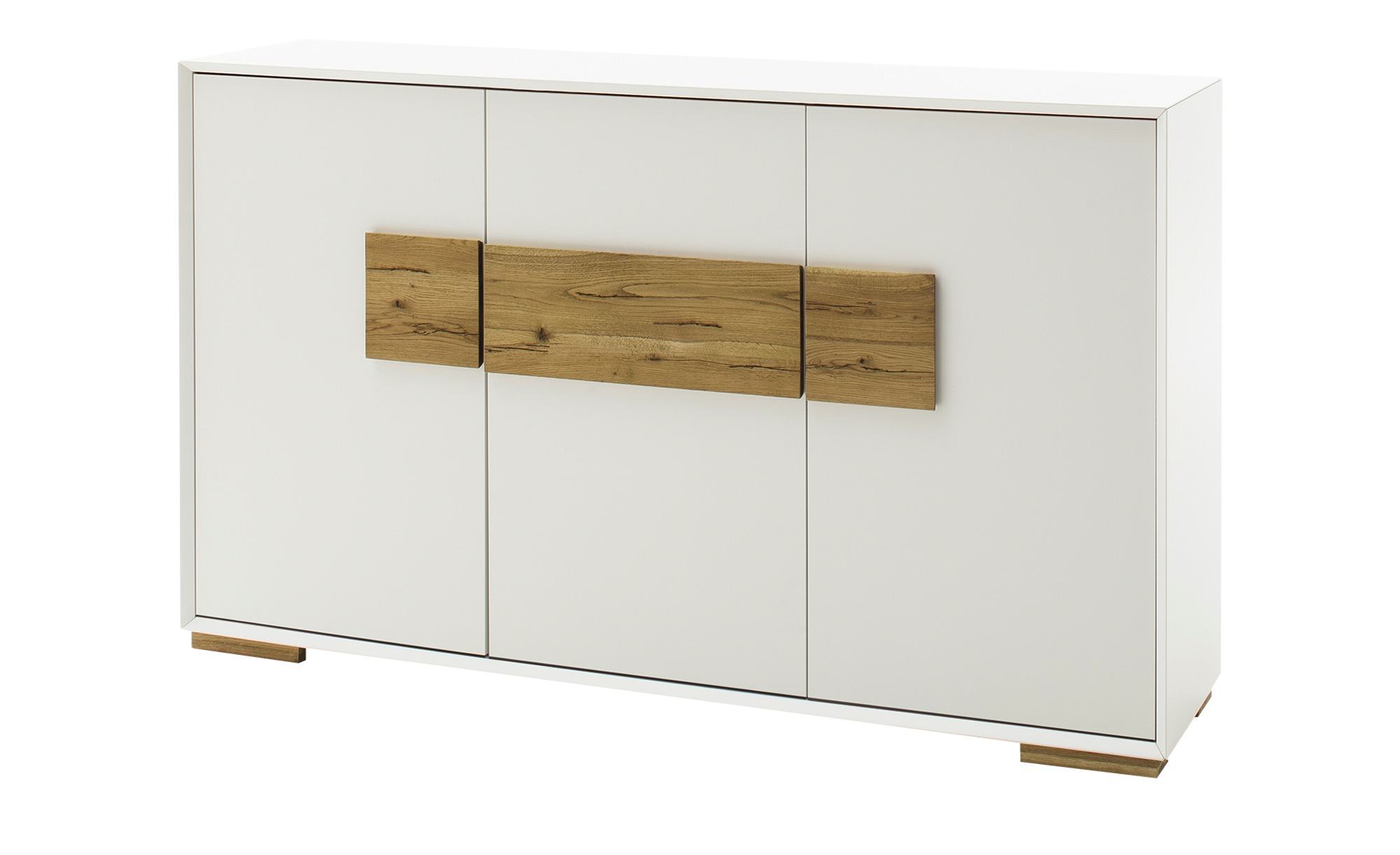 Sideboard  Portofino ¦ weiß ¦ Maße (cm): B: 161 H: 95 T: 40 Kommoden & Sideboards > Sideboards - Höffner