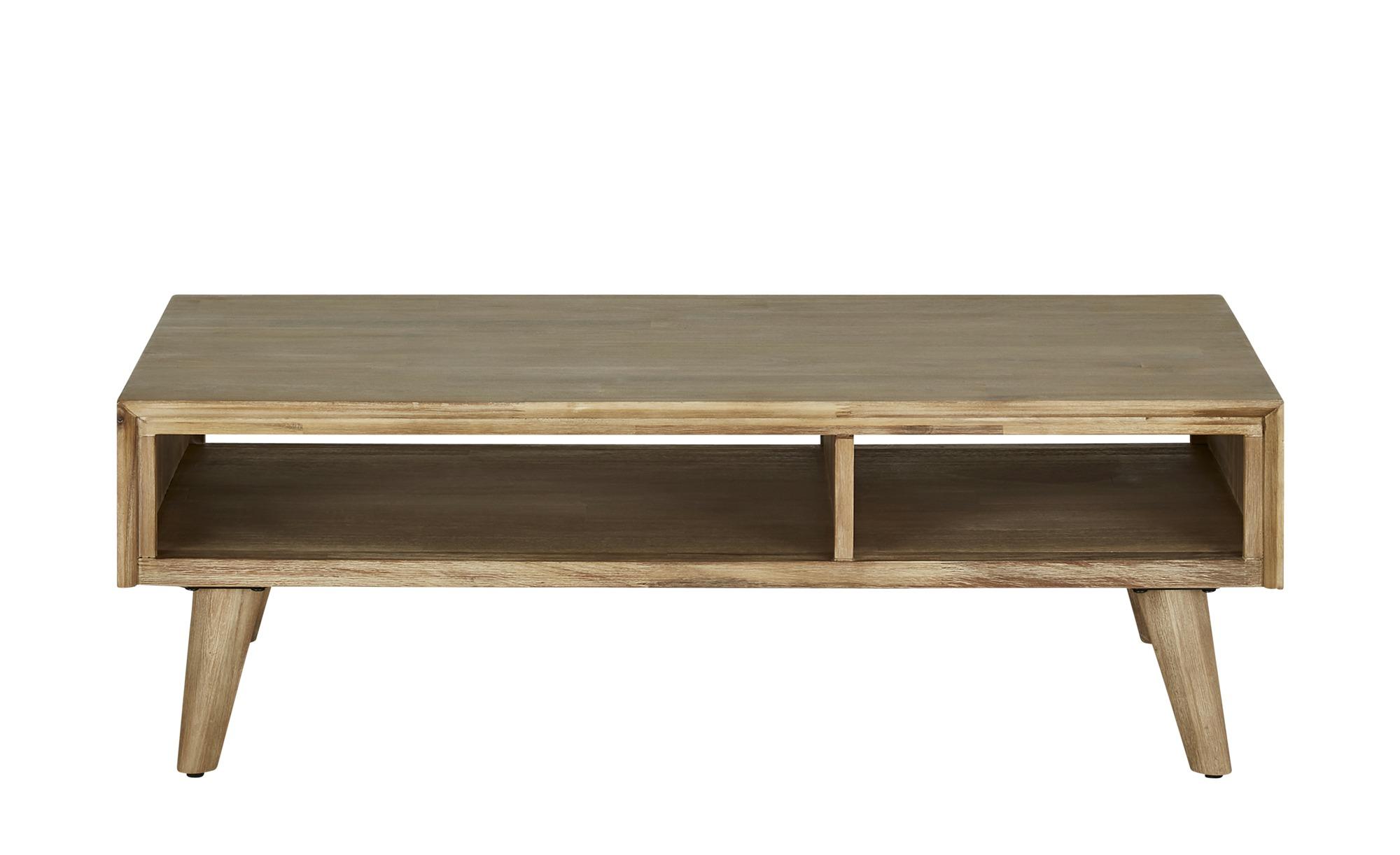 Couchtisch  Vicenza ¦ grau ¦ Maße (cm): B: 70 H: 40 Tische > Couchtische > Couchtisch Massivholz - Höffner