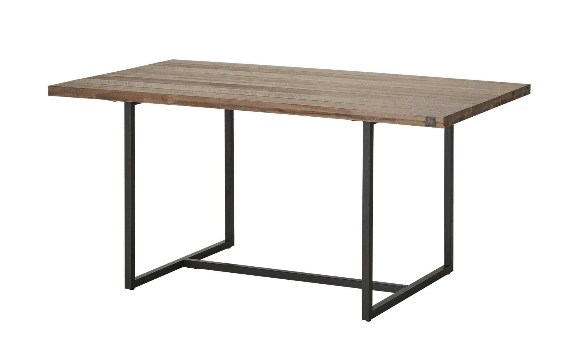 Esstisch  Lorica ¦ grau ¦ Maße (cm): B: 90 H: 76 Tische > Esstische > Esstische massiv - Höffner