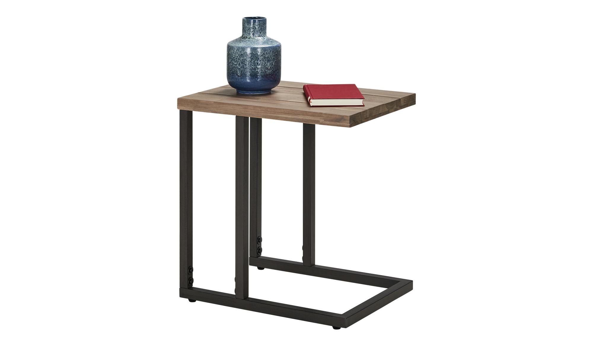 #Lapttop-Tisch  Lorica ¦ grau ¦ Maße (cm): B: 36 H: 50 Tische > Beistelltische > Beistelltische ohne Rollen – Höffner#