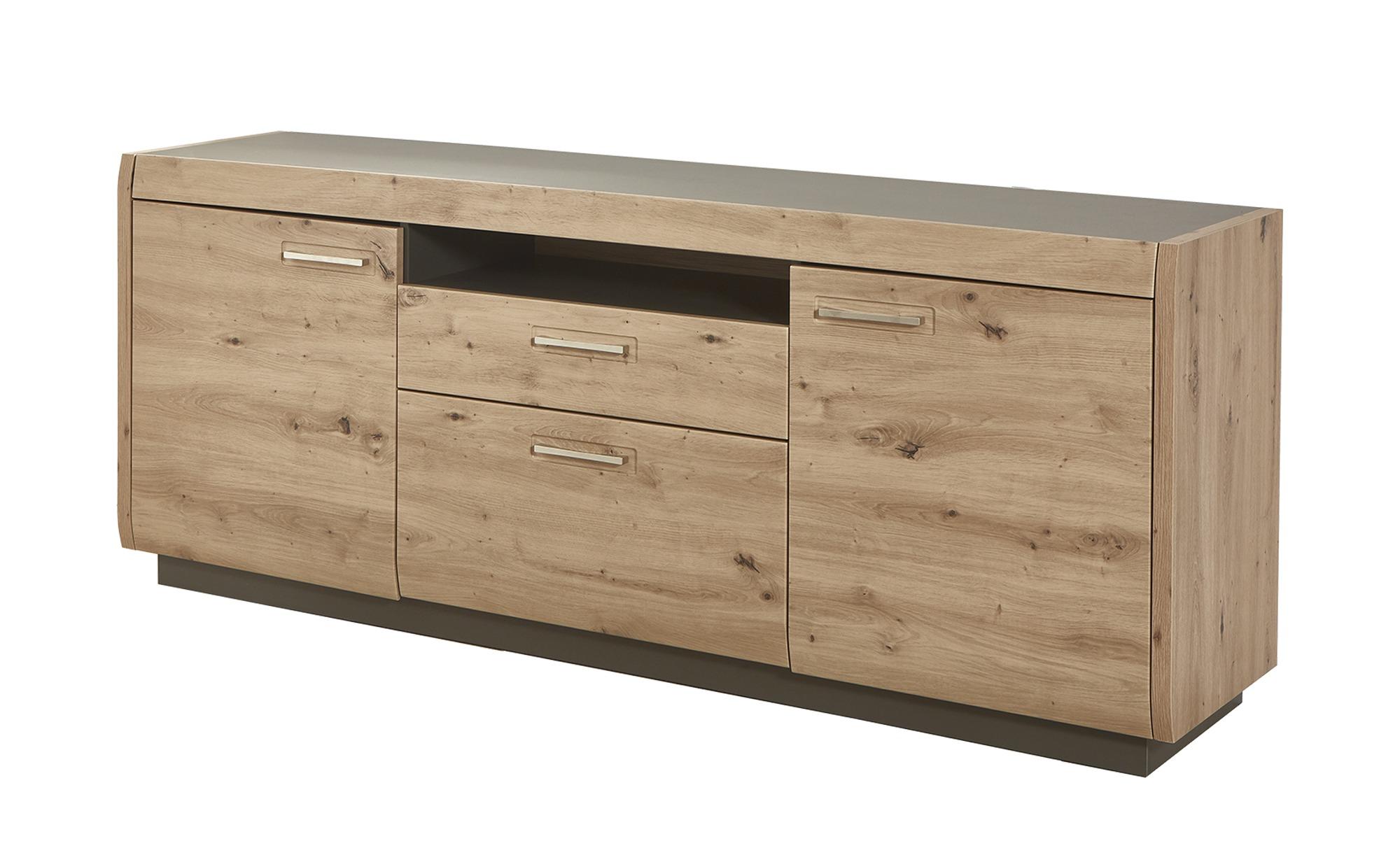 uno Sideboard  Austin ¦ holzfarben ¦ Maße (cm): B: 205 H: 74 T: 44 Kommoden & Sideboards > Sideboards - Höffner
