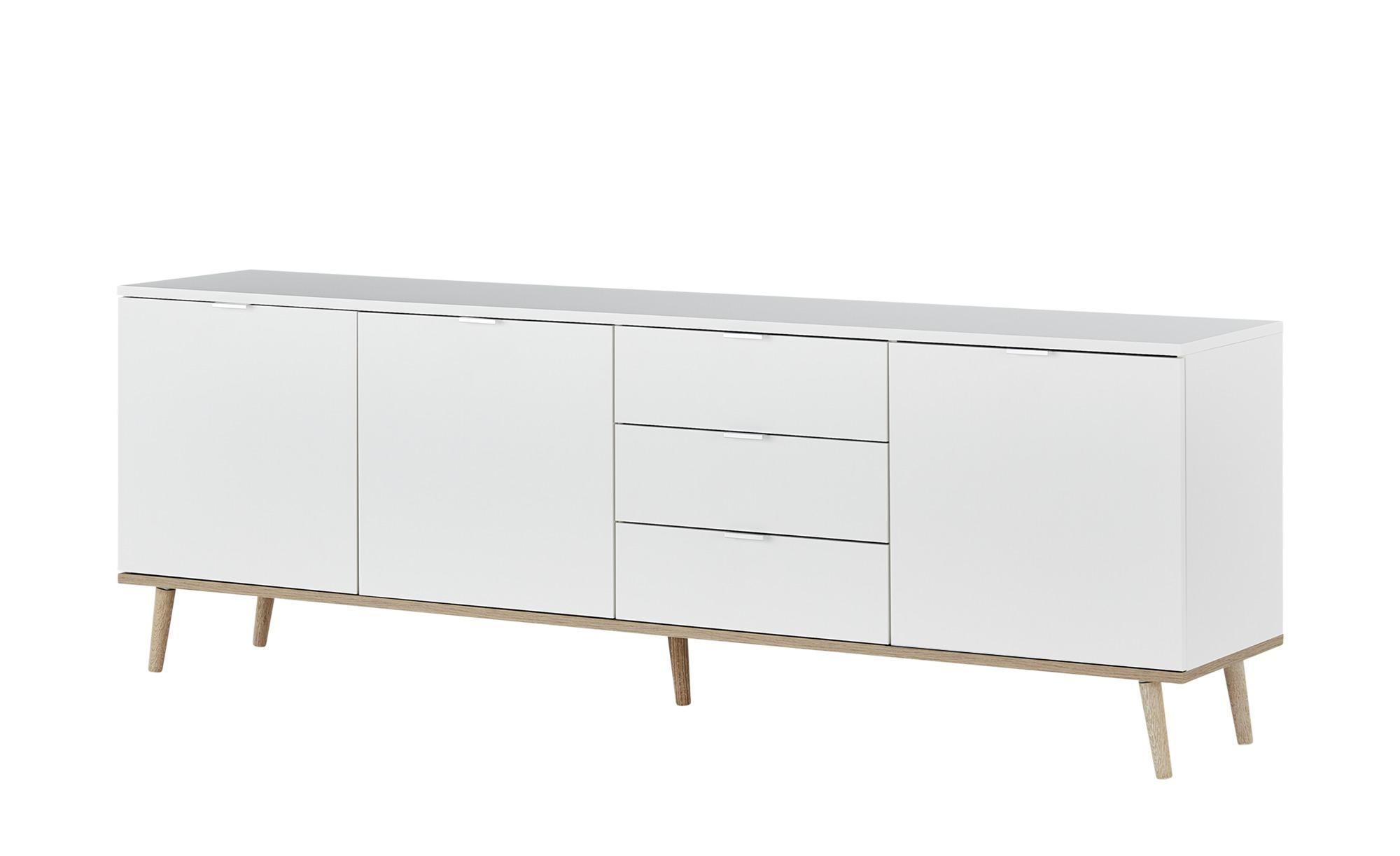 Sideboard  Gallese ¦ weiß ¦ Maße (cm): B: 200 H: 68 T: 40 Kommoden & Sideboards > Sideboards - Höffner