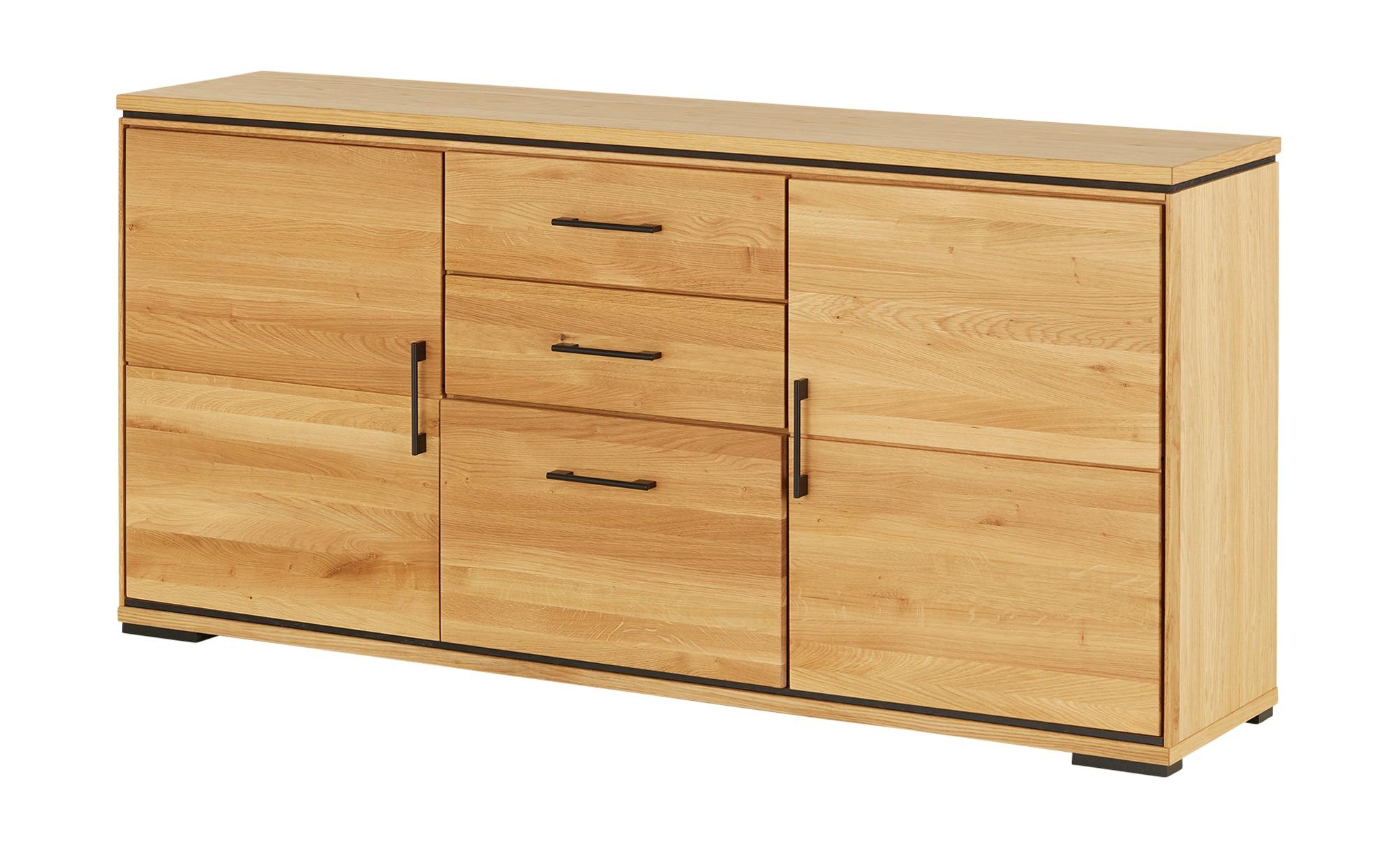 Woodford Sideboard  Modea-Black ¦ holzfarben ¦ Maße (cm): B: 185 H: 87,9 T: 43 Kommoden & Sideboards > Sideboards - Höffner