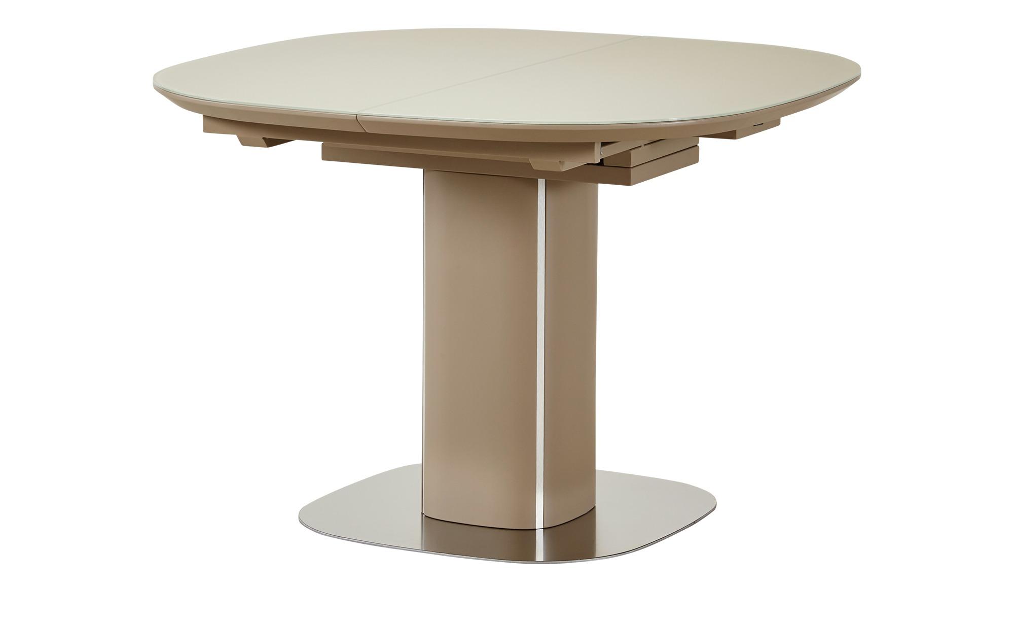Esstisch ausziehbar  Dave ¦ beigeØ: 110 Tische > Esstische > Esstische rund - Höffner