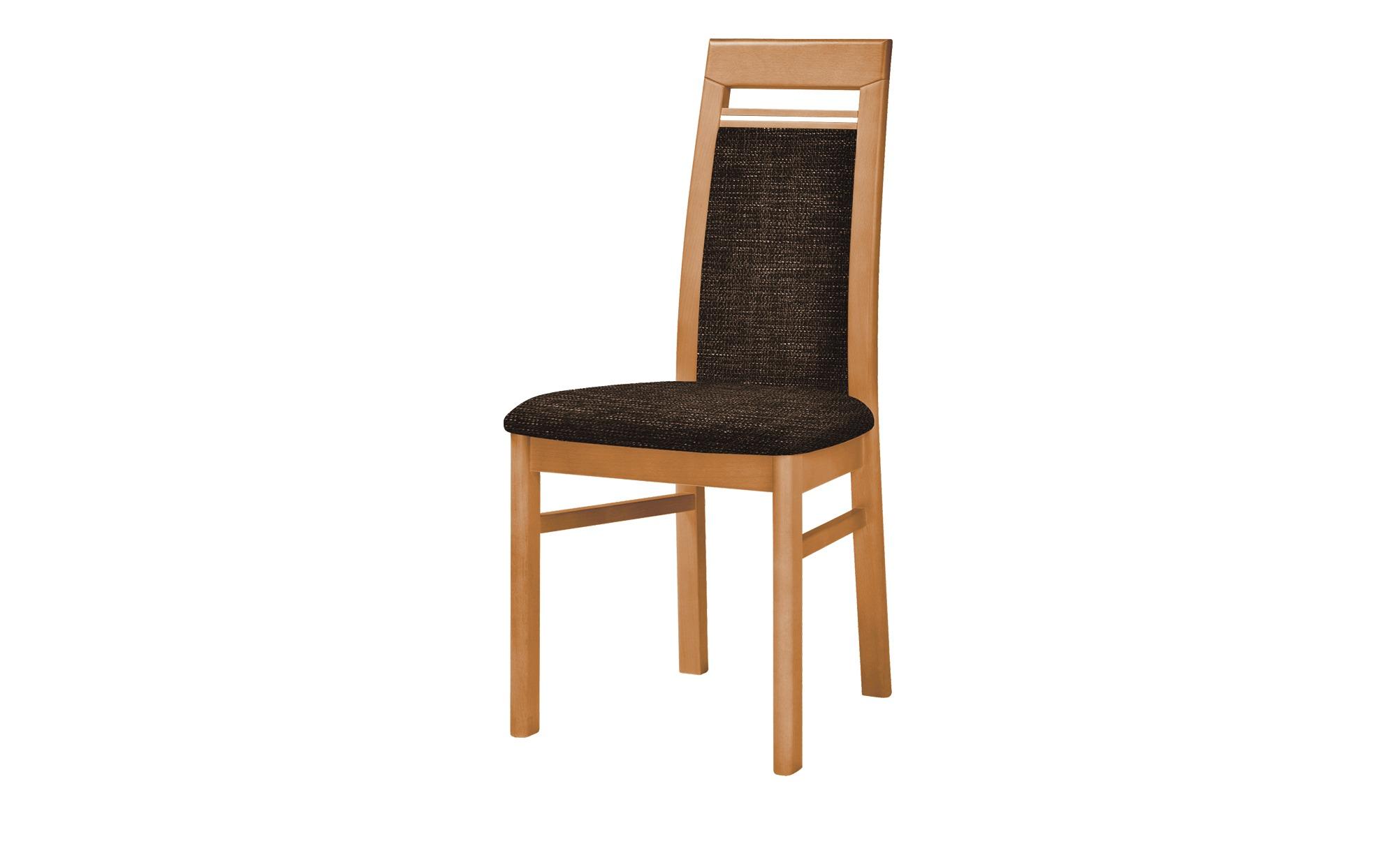 Stuhl  Cristal ¦ braun ¦ Maße (cm): B: 48 H: 99 T: 56 Stühle > Polsterstühle - Höffner | Küche und Esszimmer > Stühle und Hocker > Polsterstühle | Möbel Höffner DE