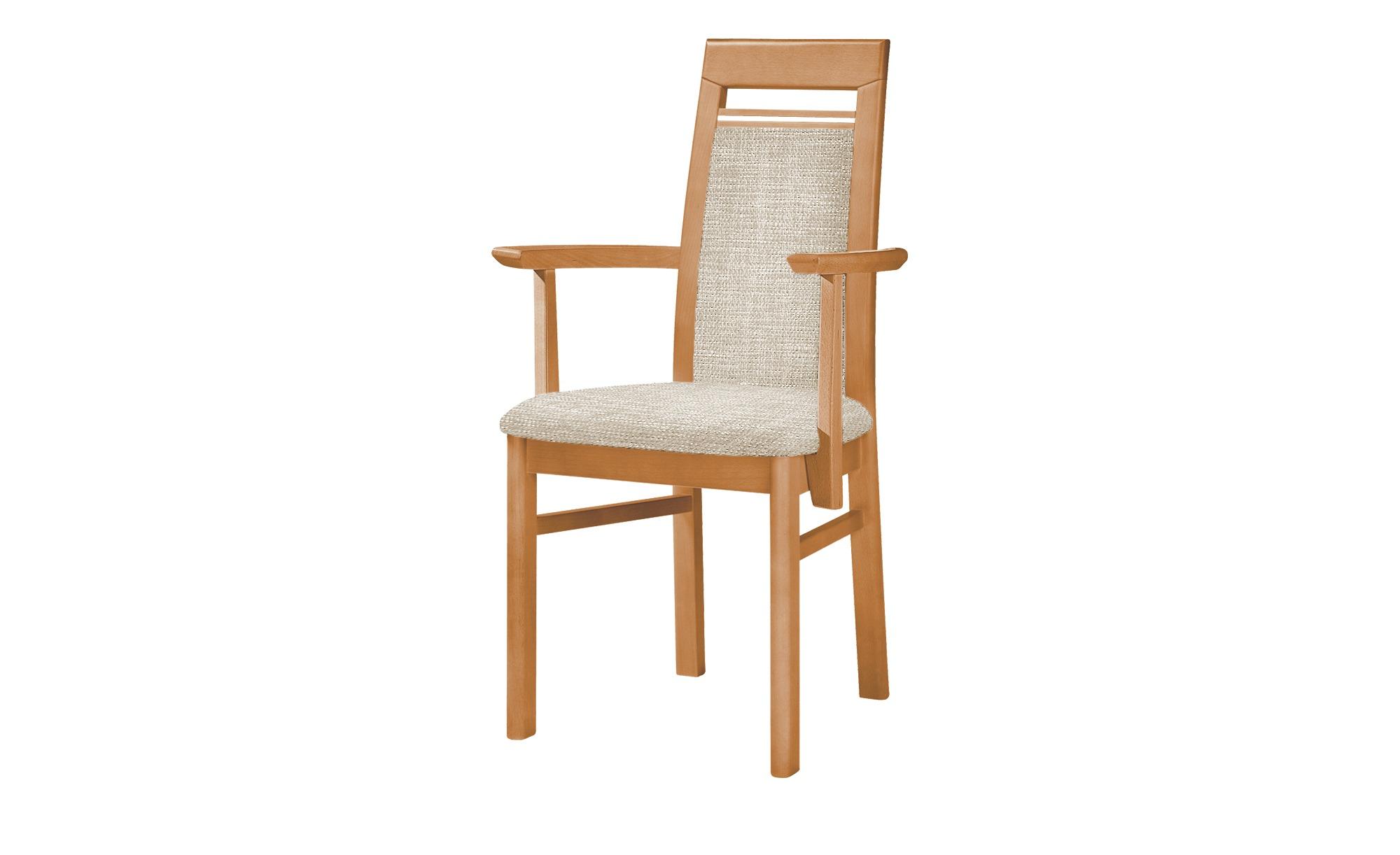 Stuhl  Cristal ¦ weiß ¦ Maße (cm): B: 60 H: 99 T: 56 Stühle > Esszimmerstühle > Esszimmerstühle mit Armlehnen - Höffner   Küche und Esszimmer > Stühle und Hocker > Esszimmerstühle   Weiß   Webstoff - Holz   Möbel Höffner DE