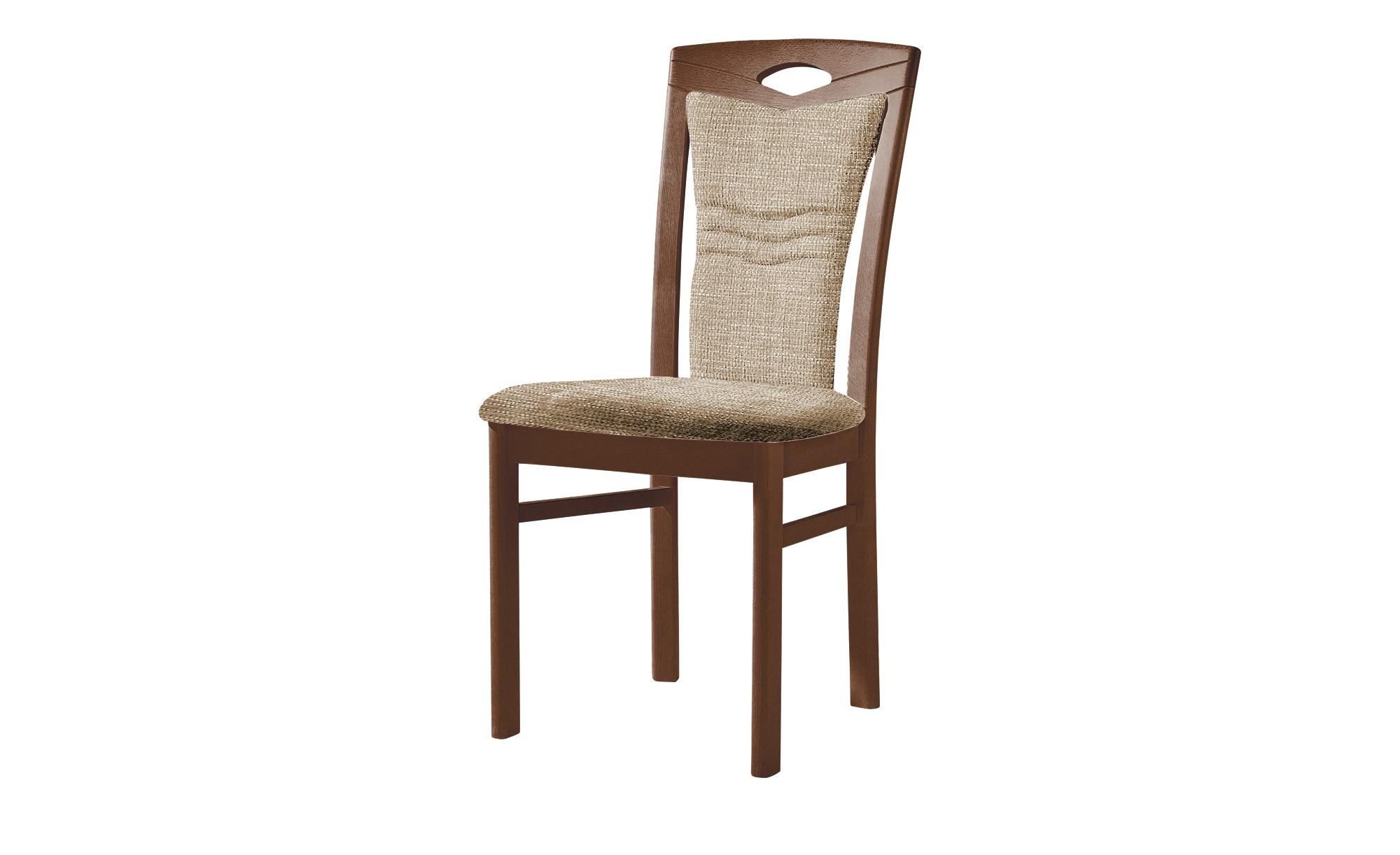Stuhl  Cristal ¦ braun ¦ Maße (cm): B: 48 H: 100,5 T: 58 Stühle > Polsterstühle - Höffner | Küche und Esszimmer > Stühle und Hocker | Möbel Höffner DE