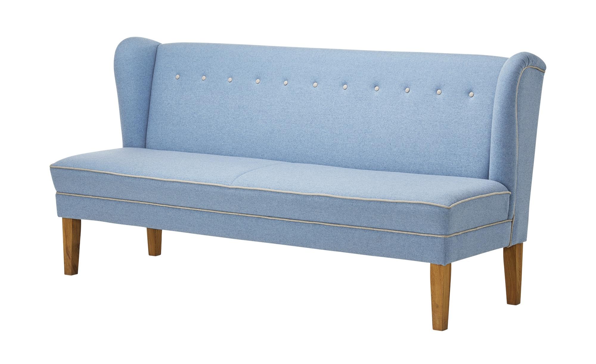 Küchensofa   Riva ¦ blau ¦ Maße (cm): B: 179 H: 100 T: 75 Polstermöbel > Sofas > Einzelsofas - Höffner