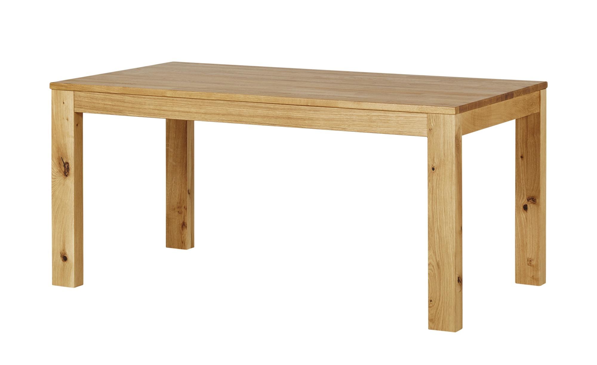 Wohnwert Esstisch  Einsteiger ¦ holzfarben ¦ Maße (cm): B: 90 H: 76 Tische > Esstische > Esstische massiv - Höffner