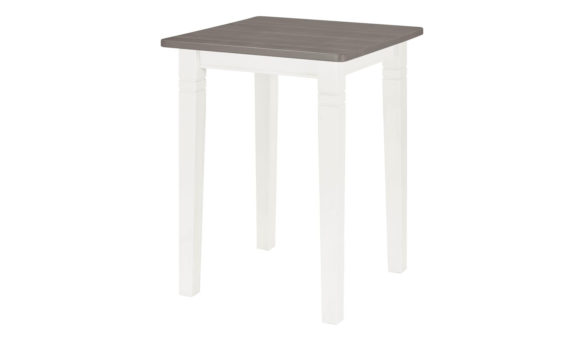 maison bleue Bartisch  Florian ¦ weiß ¦ Maße (cm): B: 78 H: 103 Tische > Bartische - Höffner | Küche und Esszimmer > Bar-Möbel > Bar-Stehtische | Möbel Höffner DE