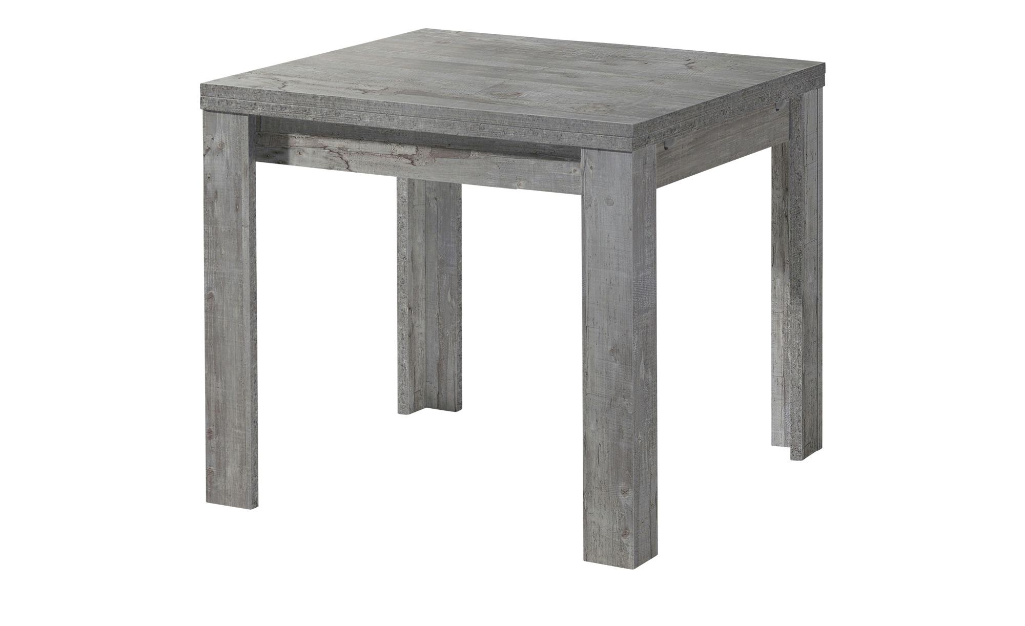 Esstisch  FleX ¦ grau ¦ Maße (cm): B: 60 H: 78 Tische > Esstische > Esstische ausziehbar - Höffner