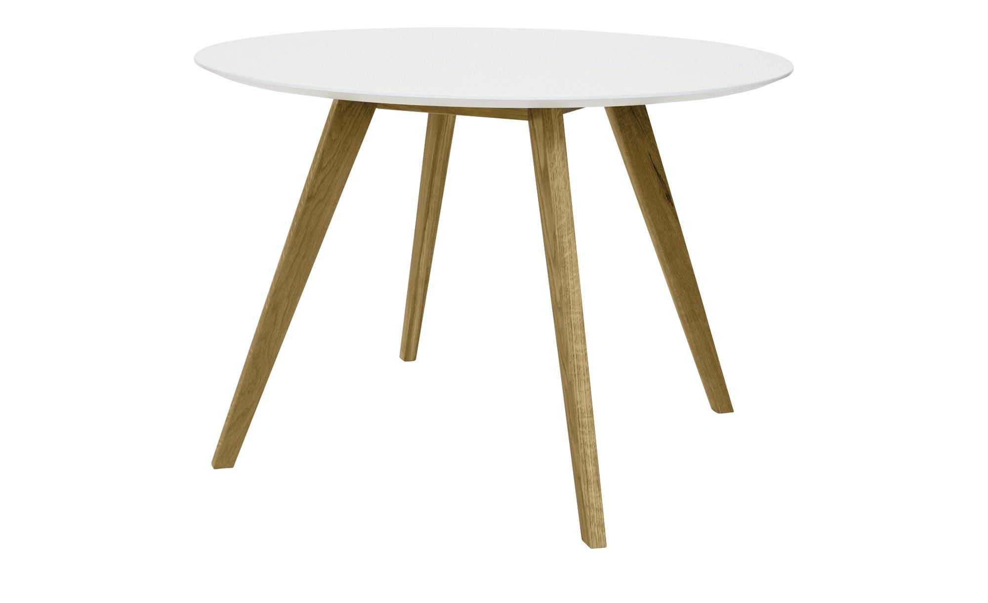 Esstisch  Jesper ¦ mehrfarbig ¦ Maße (cm): H: 75 Ø: 110 Tische > Esstische > Esstische rund - Höffner
