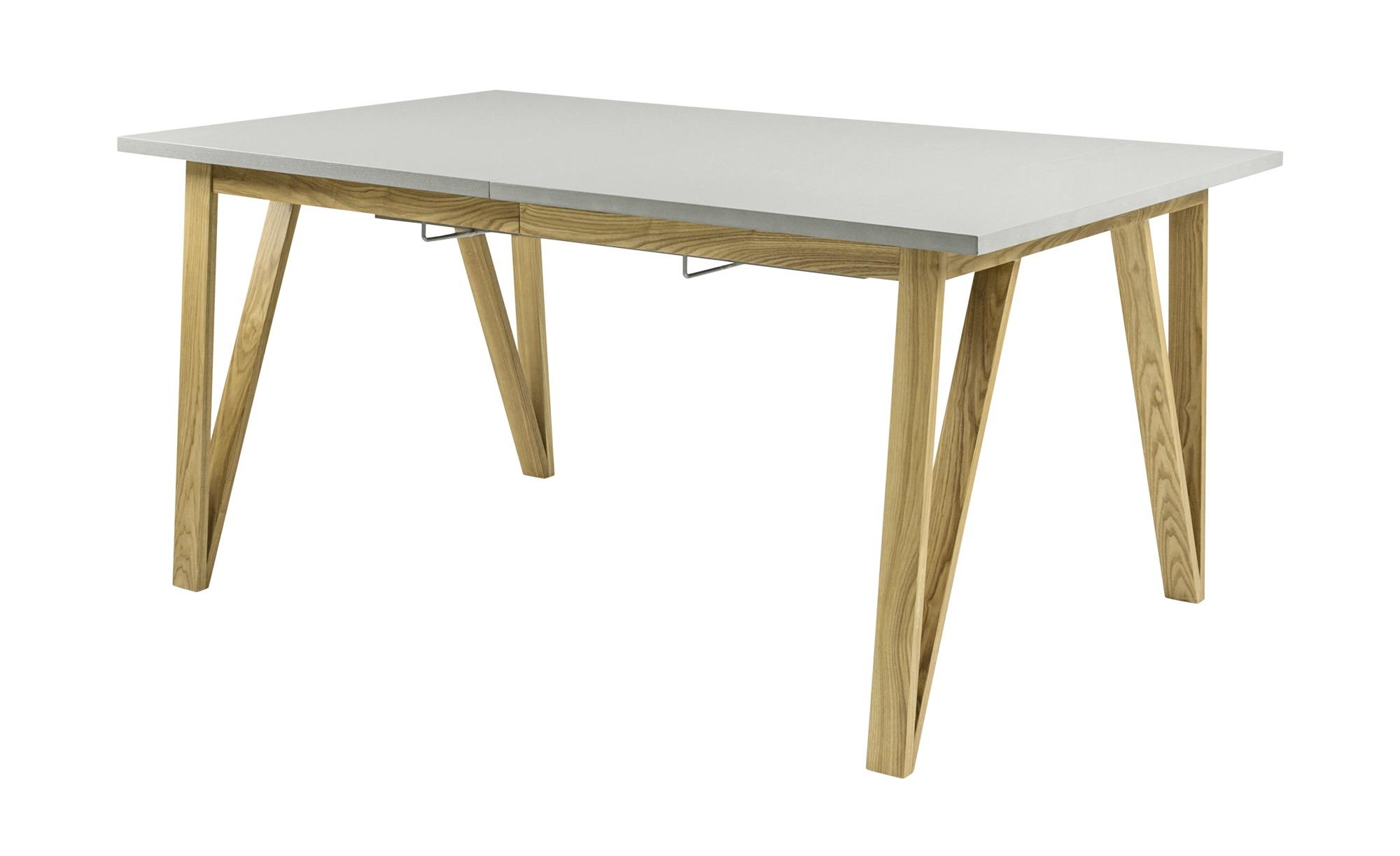 Esstisch mit Ausziehfunktion  Lorens ¦ grau ¦ Maße (cm): B: 75 H: 95 Tische > Esstische > Esstische eckig - Höffner