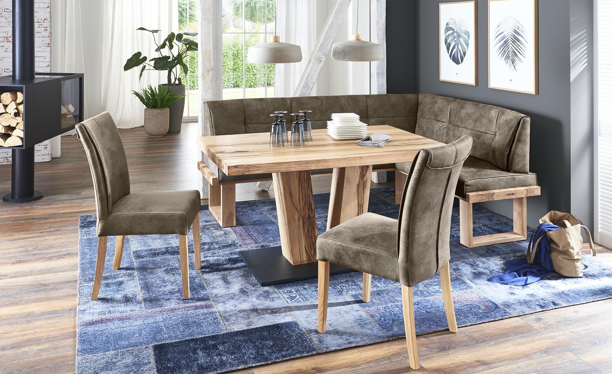 Woodford Eckbank  Alina ¦ braun ¦ Maße (cm): H: 88 Bänke > Eckbänke - Höffner | Küche und Esszimmer > Sitzbänke > Eckbänke | Möbel Höffner DE