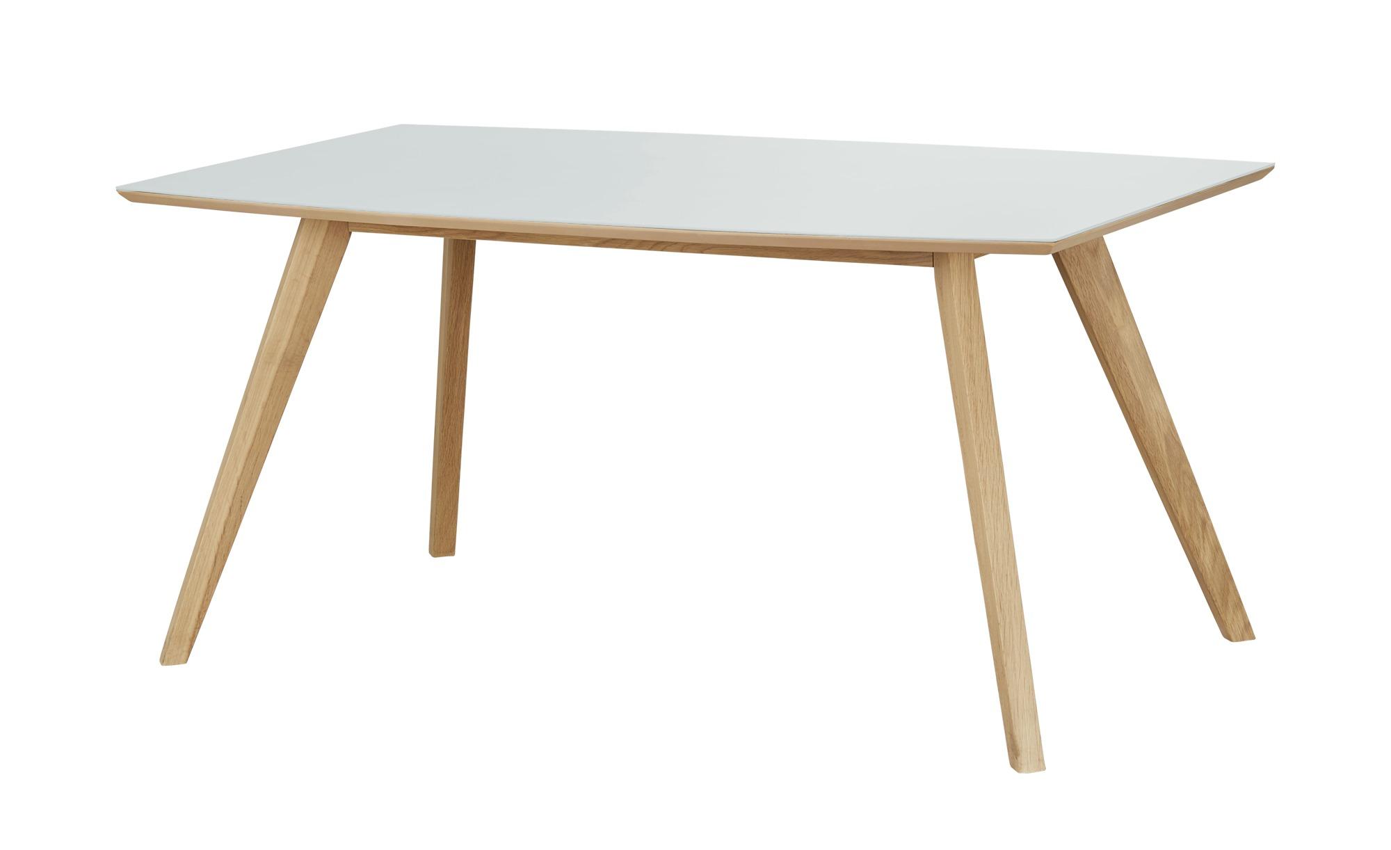 Woodford Esstisch  Bari ¦ weiß ¦ Maße (cm): B: 90 H: 75,6 Tische > Esstische > Esstische andere Formen - Höffner