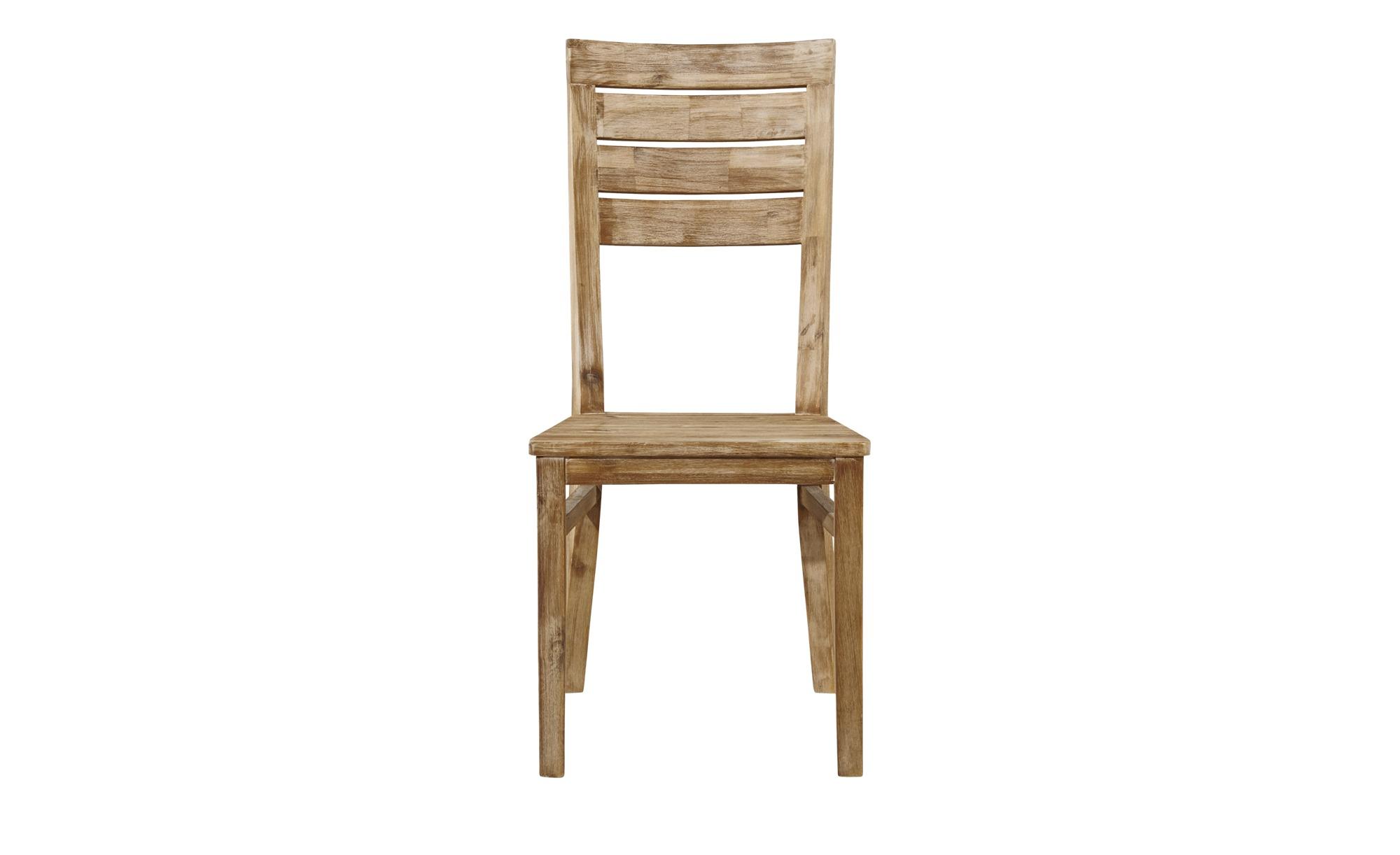 Woodford Stuhl Borneo holzfarben 47 cm 98 cm 41 cm Stühle > Esszimmerstühle Möbel Kraft