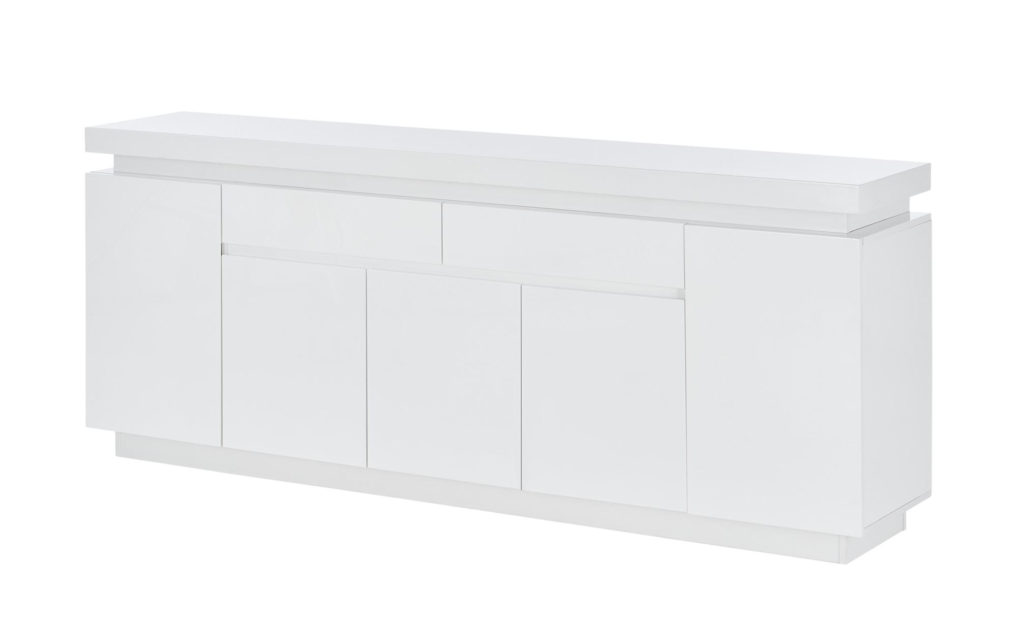 Sideboard   Torri ¦ weiß ¦ Maße (cm): B: 200 H: 81 T: 40 Kommoden & Sideboards > Sideboards - Höffner