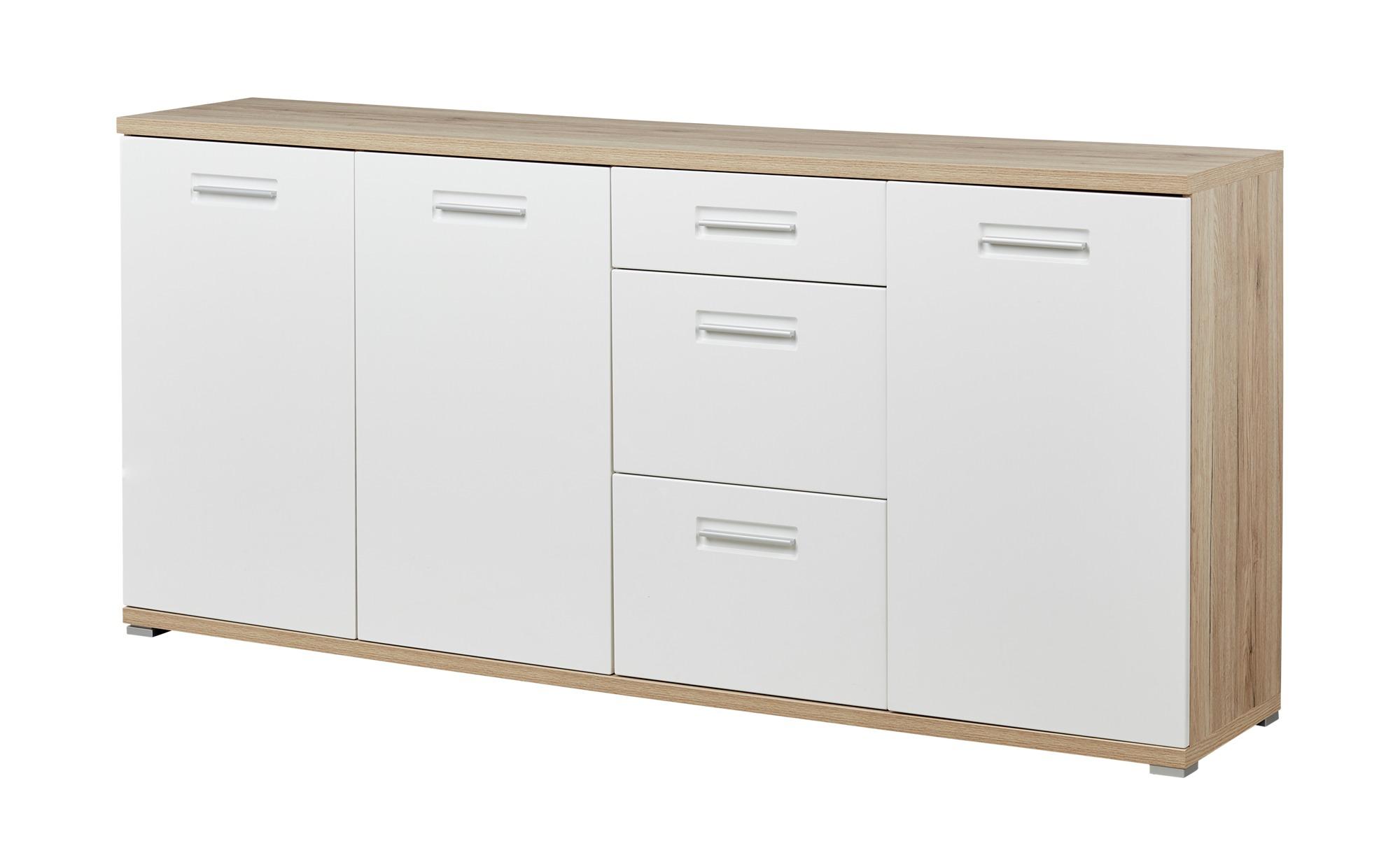 uno Sideboard  TYBAL ¦ holzfarben ¦ Maße (cm): B: 192 H: 88 T: 40 Kommoden & Sideboards > Kommoden - Höffner