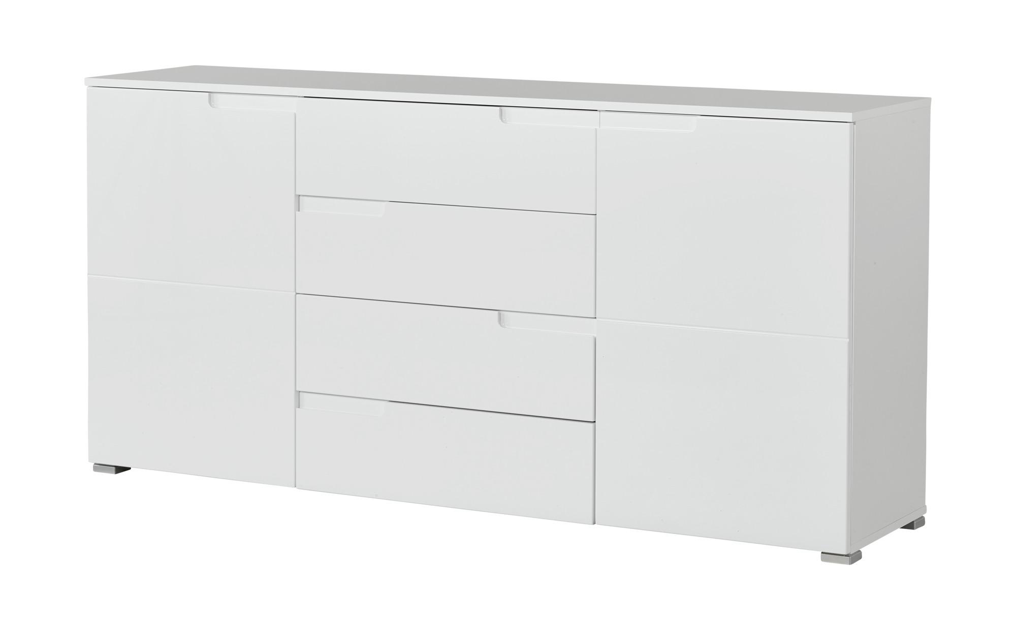 Sideboard  Palermo ¦ weiß ¦ Maße (cm): B: 165 H: 80 T: 40 Kommoden & Sideboards > Kommoden - Höffner