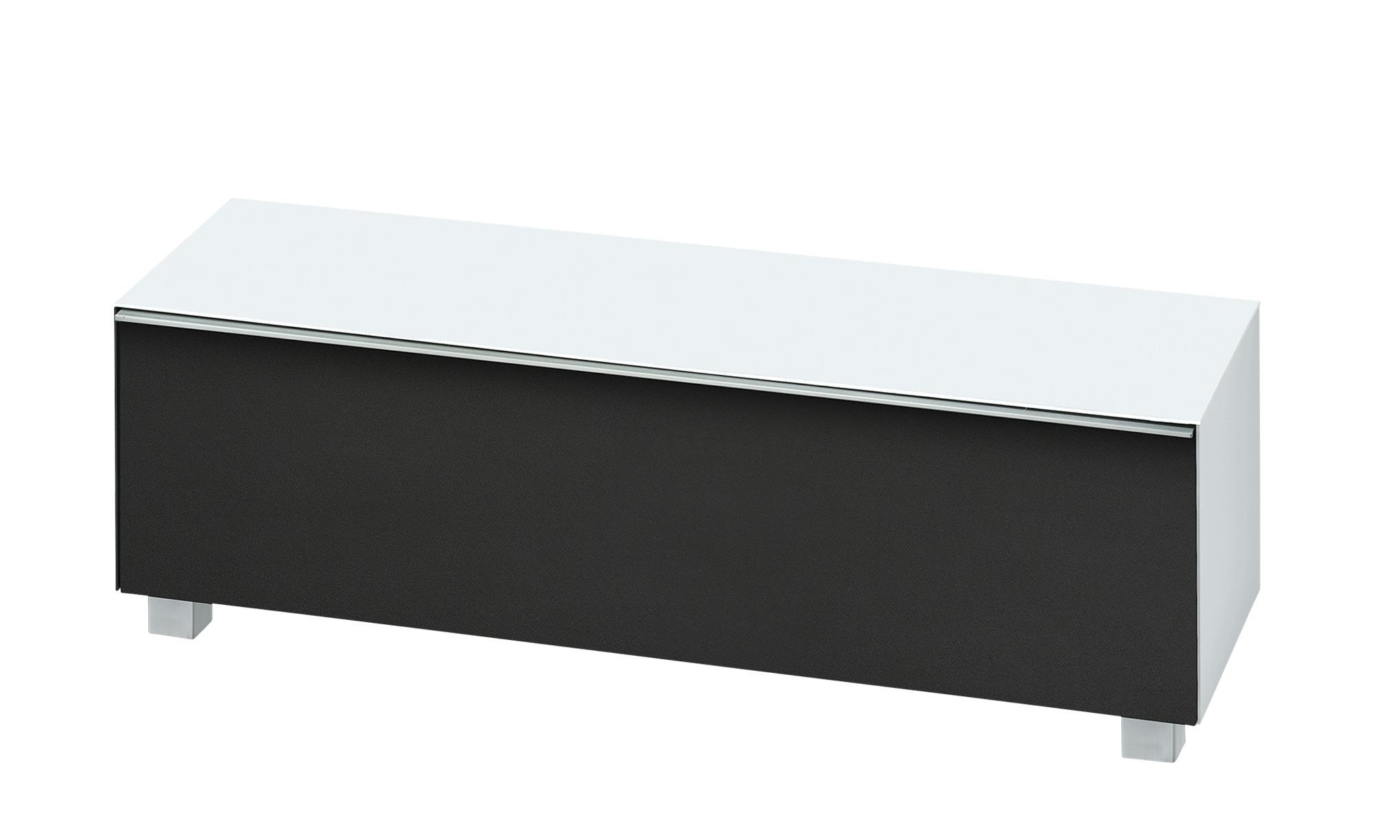 Lowboard  Soundbase S ¦ weiß ¦ Maße (cm): B: 140 H: 43 T: 42 Kommoden & Sideboards > Lowboards - Höffner