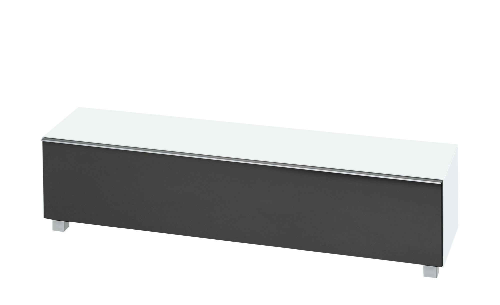 Lowboard  Soundbase L ¦ weiß ¦ Maße (cm): B: 180 H: 43 T: 42 Kommoden & Sideboards > Lowboards - Höffner