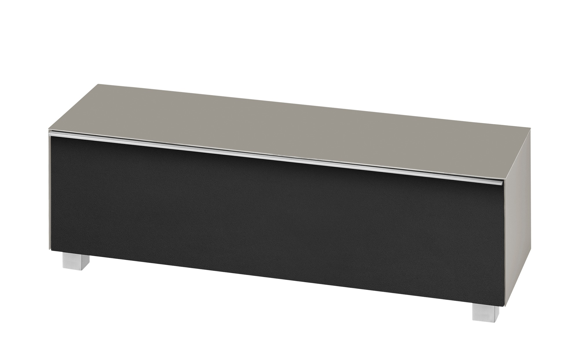 Lowboard  Soundbase L ¦ braun ¦ Maße (cm): B: 180 H: 43 T: 42 Kommoden & Sideboards > Lowboards - Höffner