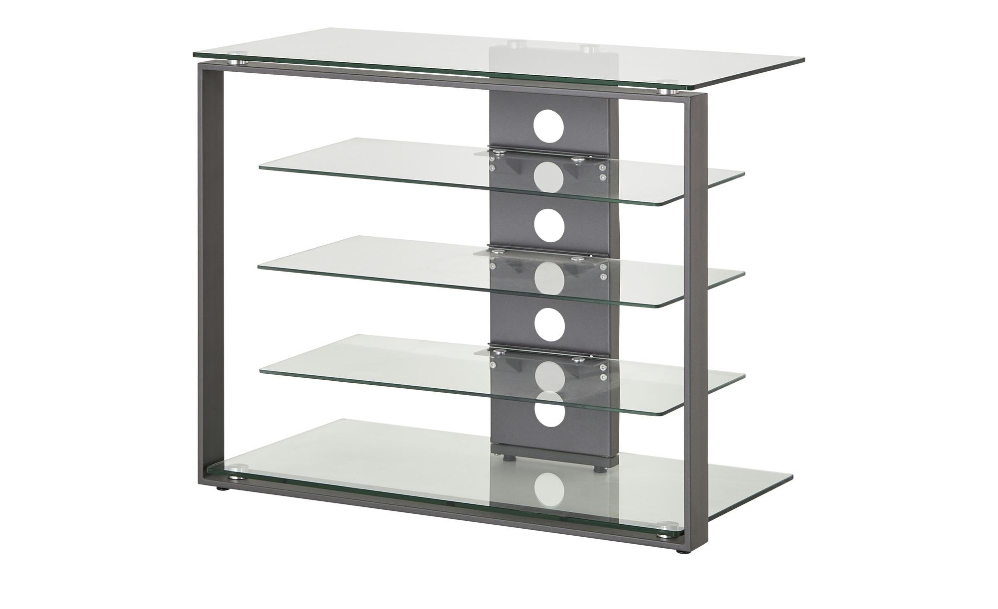 TV-Rack   Ostritz ¦ transparent/klar ¦ Maße (cm): B: 79 H: 66 T: 40 TV- & Media Möbel > TV-Schränke - Höffner