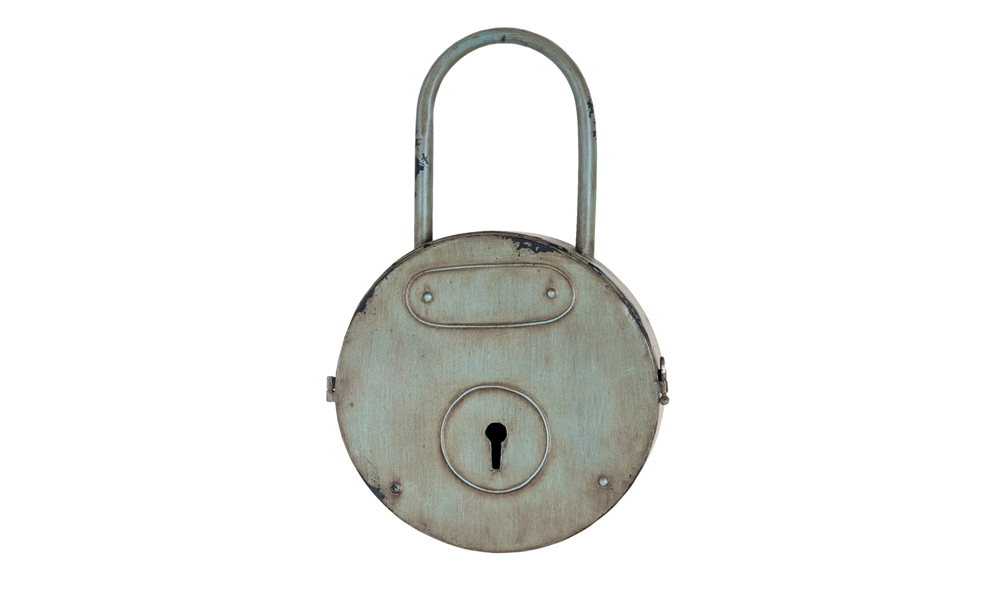 Schlüsselkasten  Halver ¦ grau ¦ Metall ¦ Maße (cm): B: 27 H: 44 T: 8 Aufbewahrung > Schlüsselkästen - Höffner | Flur & Diele > Schlüsselkästen | Grau | Metall | Möbel Höffner DE