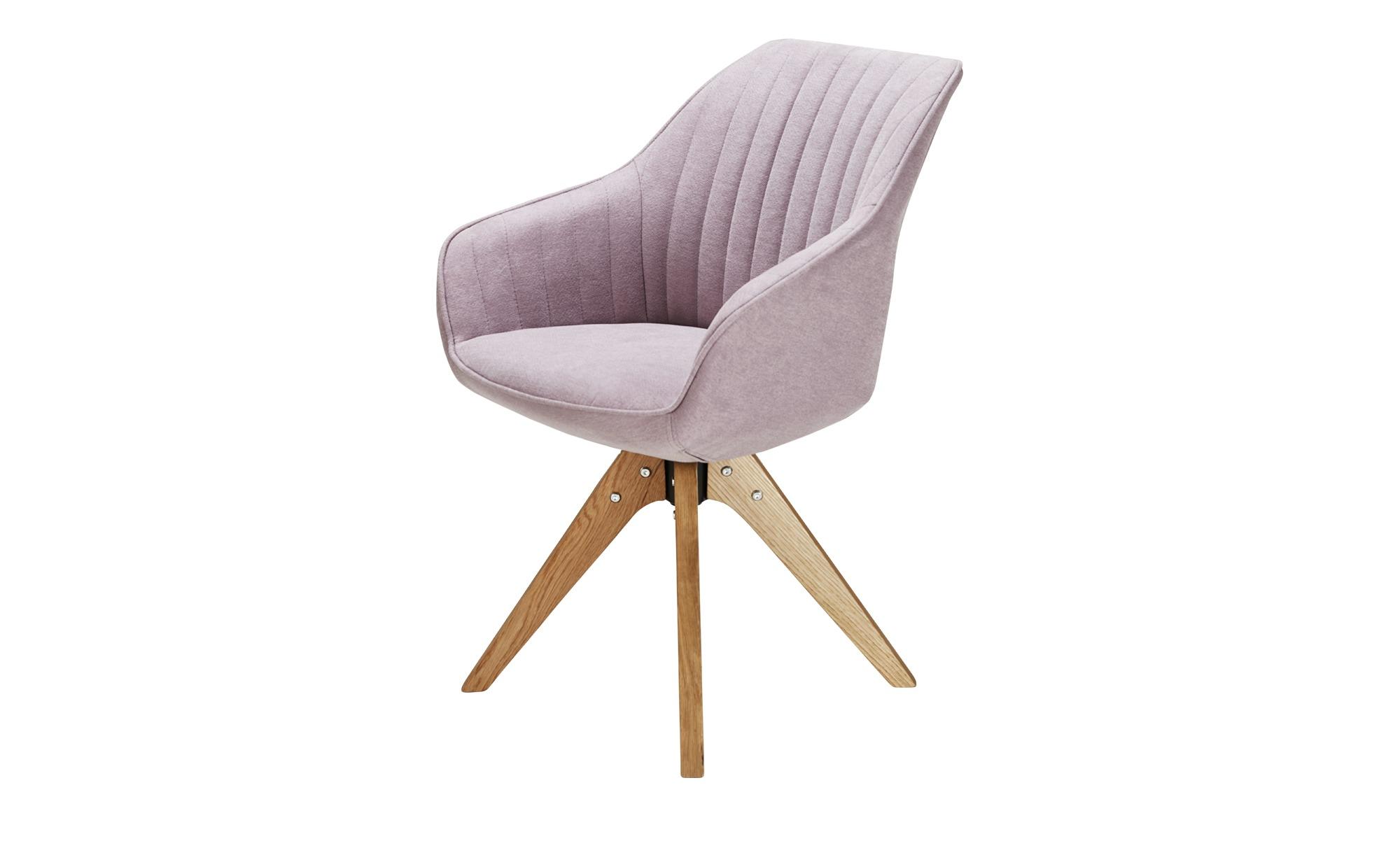 Drehsessel  Relax ¦ lila/violett ¦ Maße (cm): B: 60 H: 83 T: 65 Stühle > Esszimmerstühle > Esszimmerstühle mit Armlehnen - Höffner