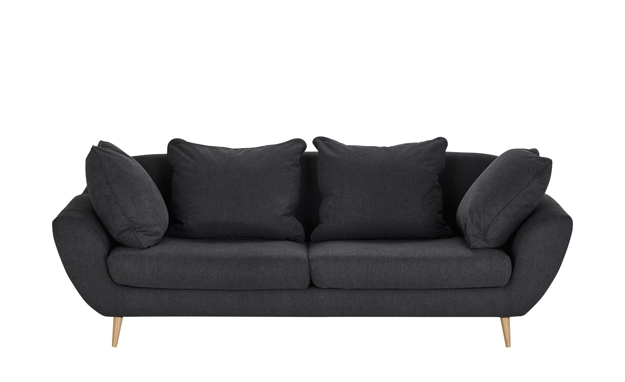 Big Sofa  Monaco ¦ grau ¦ Maße (cm): B: 230 H: 80 T: 95 Polstermöbel > Sofas > Big-Sofas - Höffner