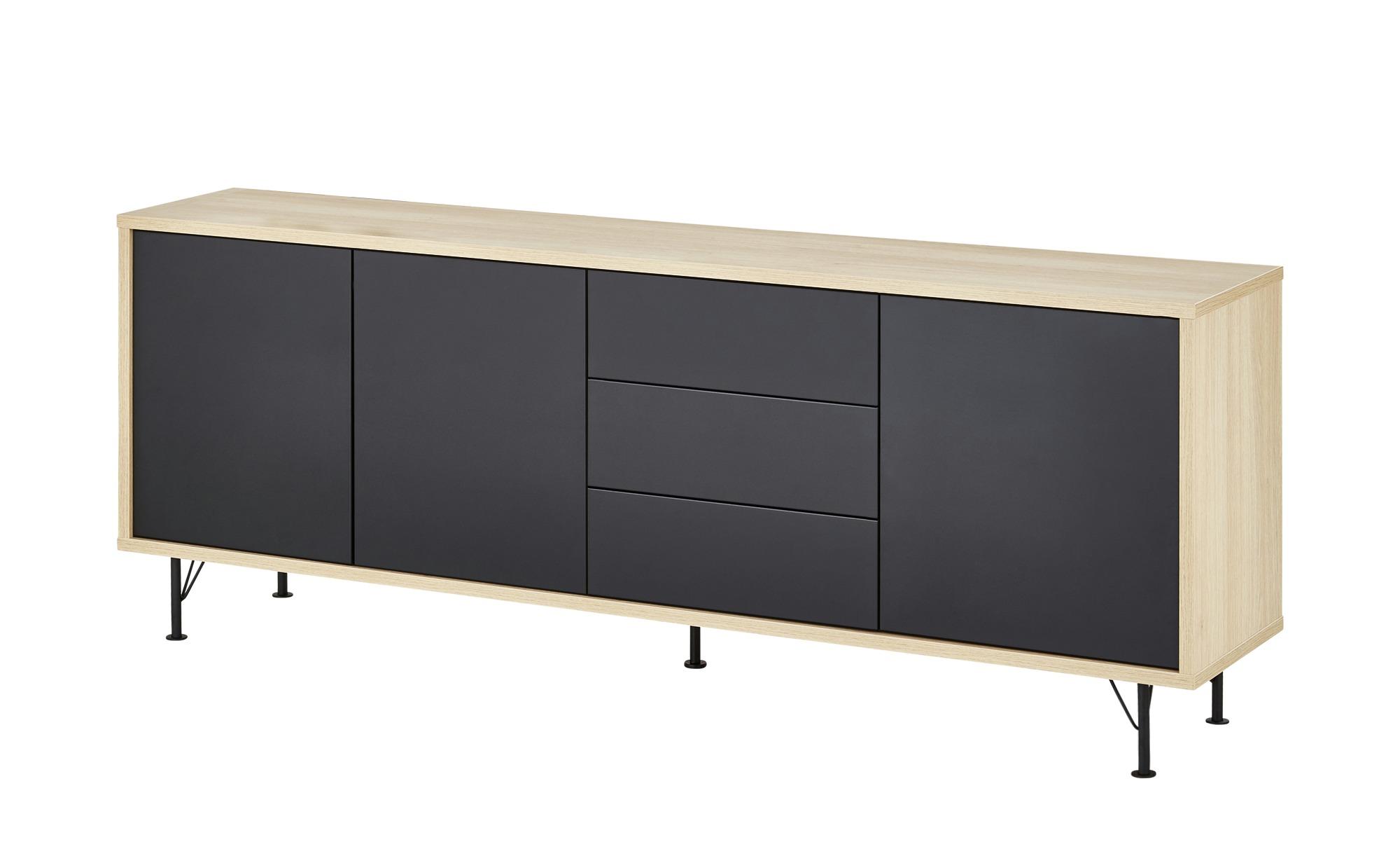 Sideboard  Malte ¦ holzfarben ¦ Maße (cm): B: 206 H: 79 T: 44 Kommoden & Sideboards > Sideboards - Höffner