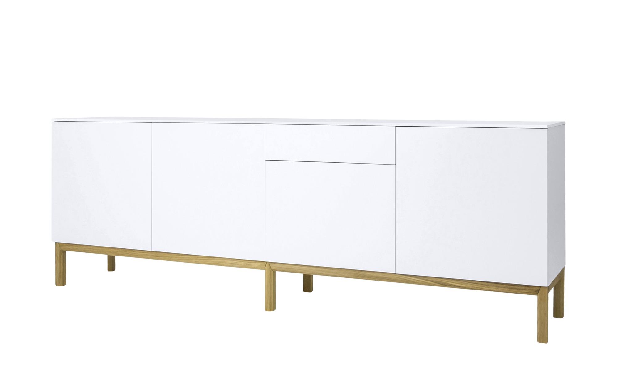 Sideboard   Loi ¦ weiß ¦ Maße (cm): B: 238,5 H: 85 T: 47 Kommoden & Sideboards > Sideboards - Höffner