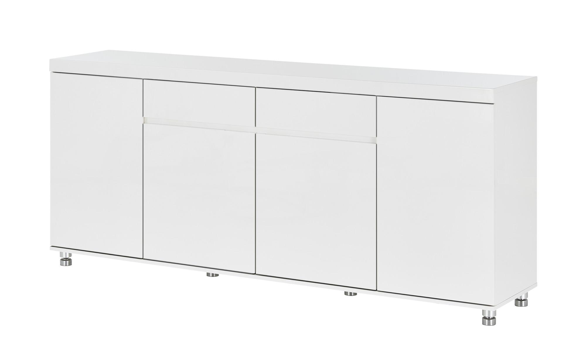 Sideboard  Novara ¦ weiß ¦ Maße (cm): B: 190 H: 83 T: 40 Kommoden & Sideboards > Kommoden - Höffner