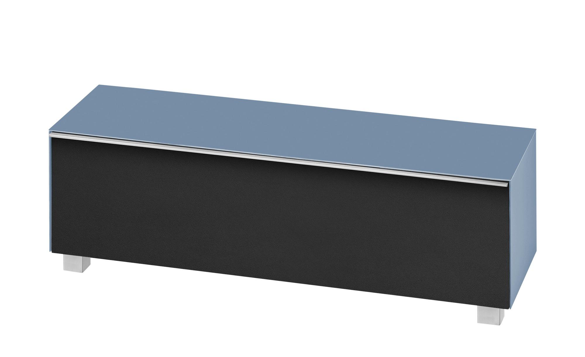 Lowboard  Soundbase L ¦ blau ¦ Maße (cm): B: 180 H: 43 T: 42 Kommoden & Sideboards > Lowboards - Höffner